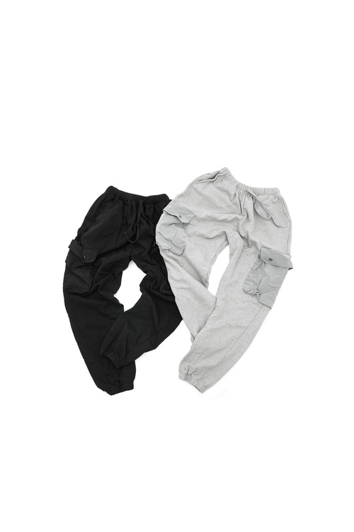 Cargo Pocket Training Pants - 2color [ 리오더 진행 중 ]