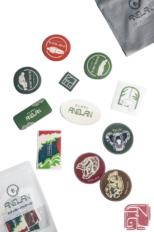 ANGLAN #1 STICKER PACK