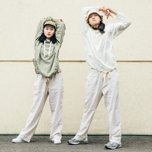 Strap Wind Anorak - 3color & Linen Pin Fatigue Pants
