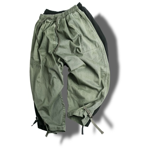 Webbing Balloon Pants - 2color [ RE ]