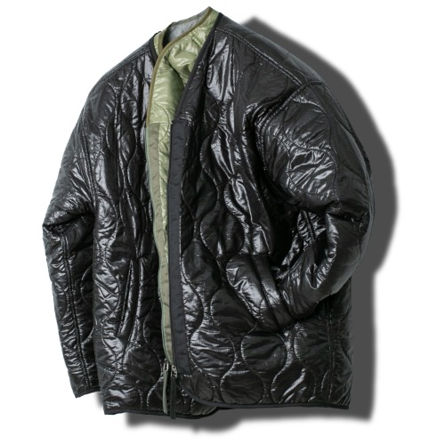 V-Zip Quilting Jacket - 2color [ RE ]