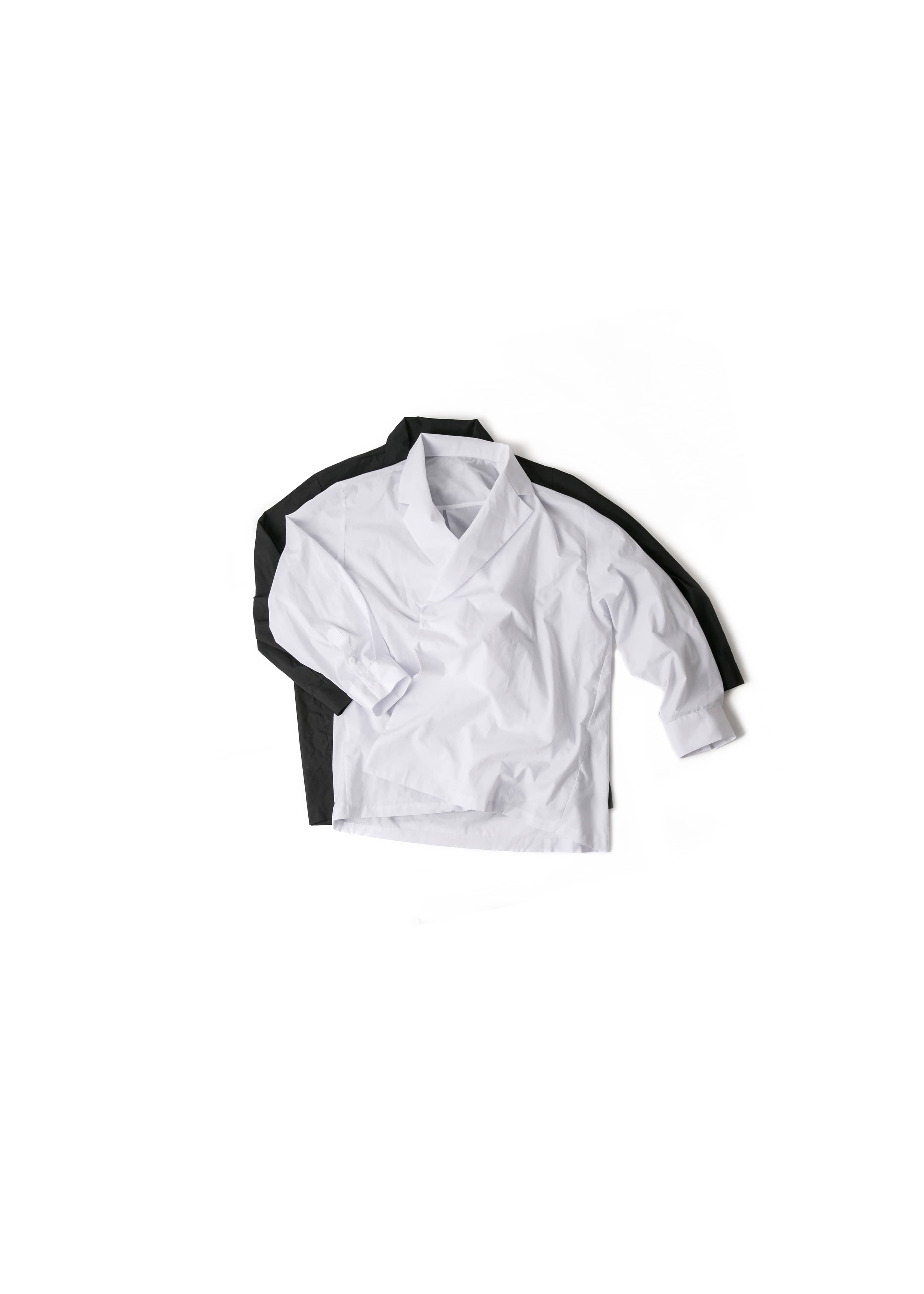 [U] Double Collar Shirts - 2color [ RE ]
