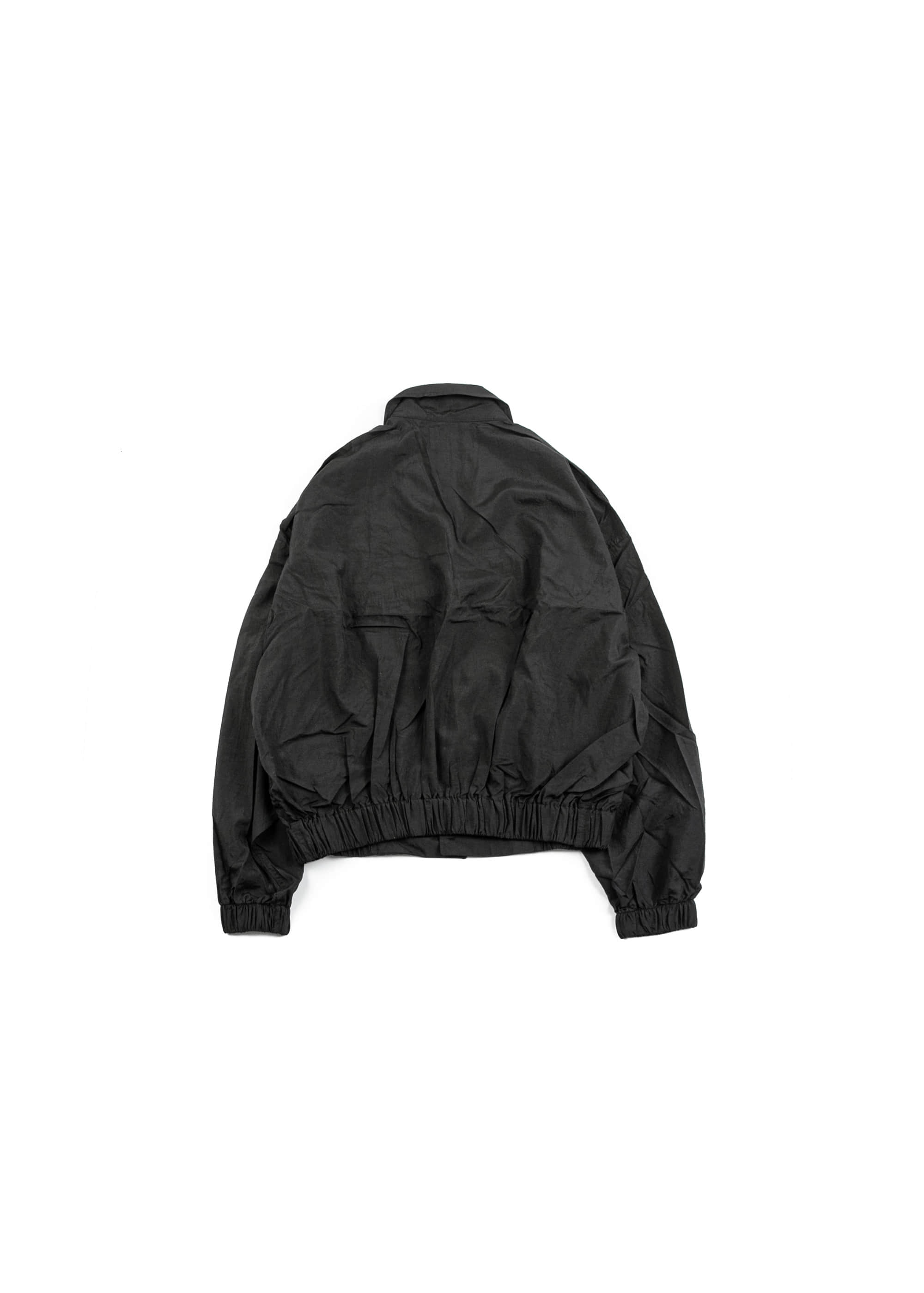 Taffeta Blouson Jacket - Black [ RE ]