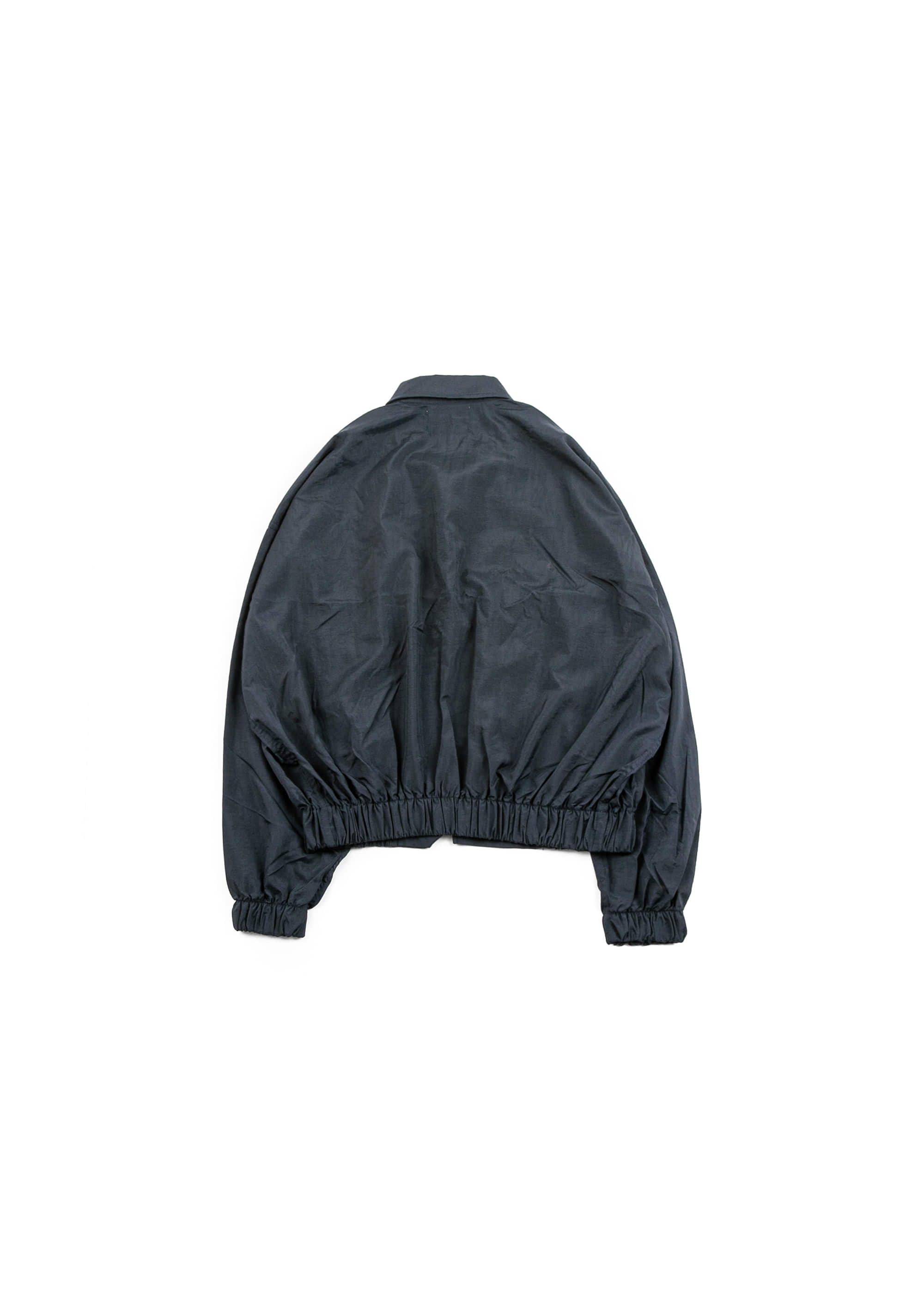 Taffeta Blouson Jacket - Navy [ RE ]