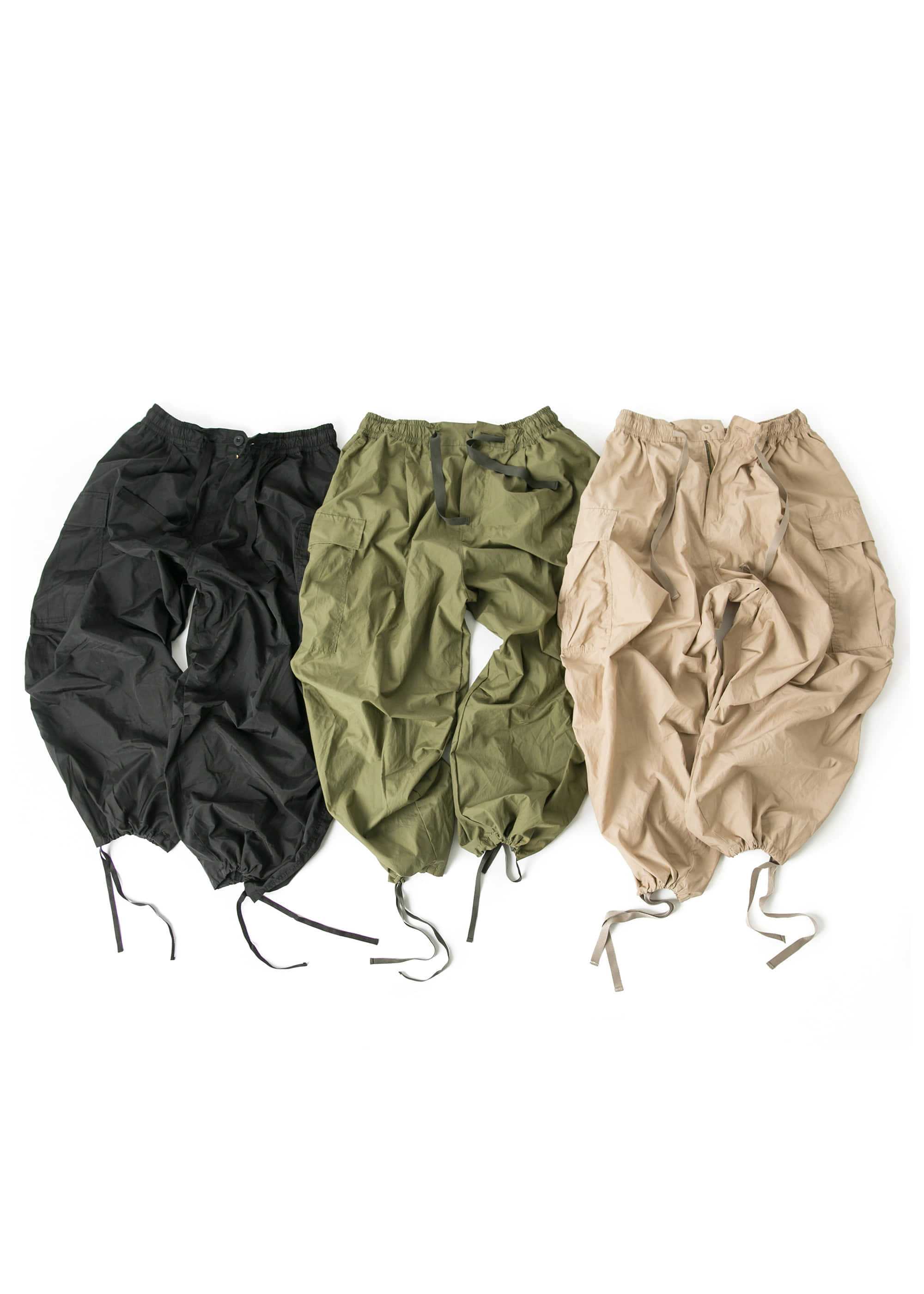 [s/s Season Item] Cargo Balloon Pants - 3color