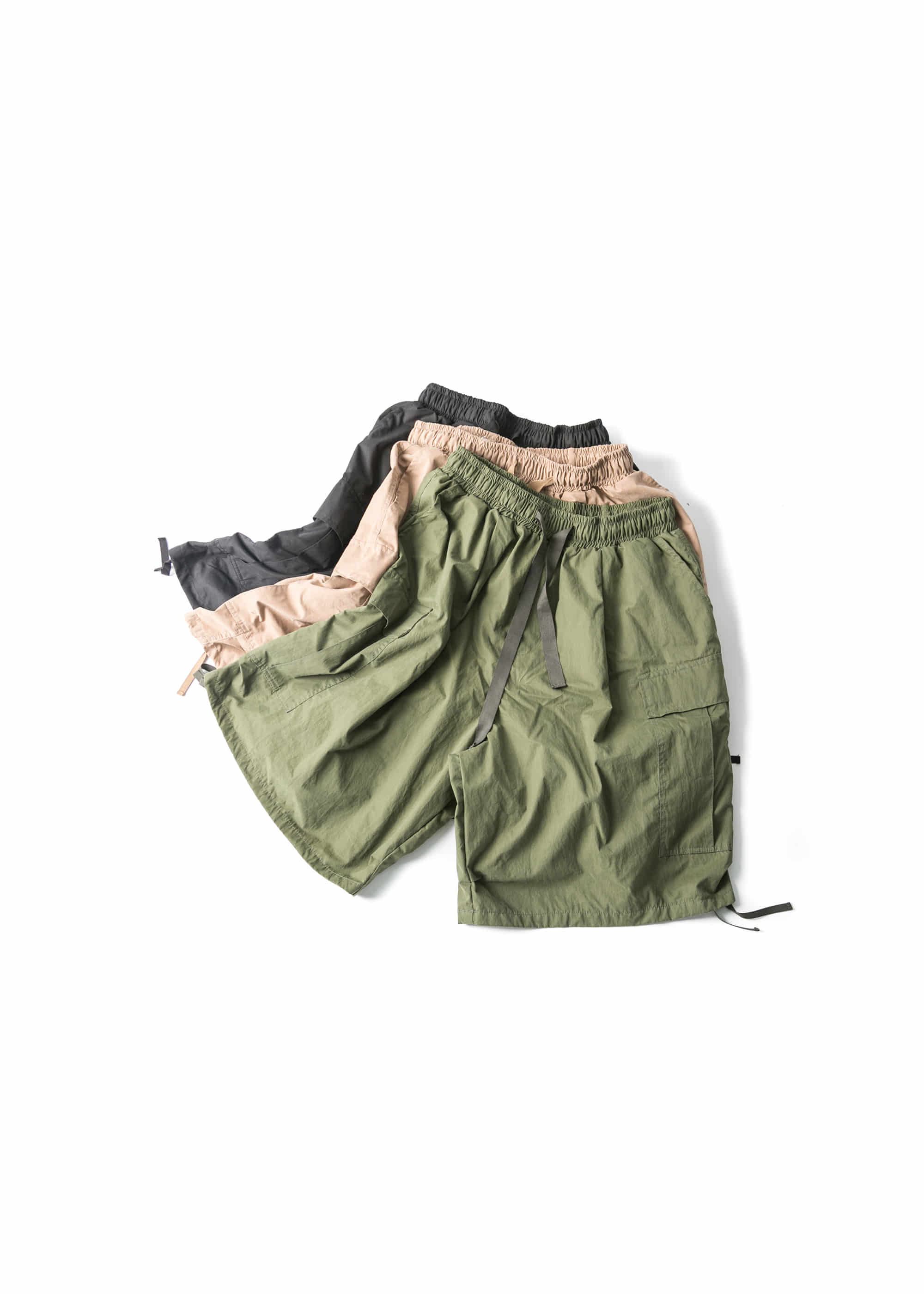 Half Cargo Balloon Pants - 3color