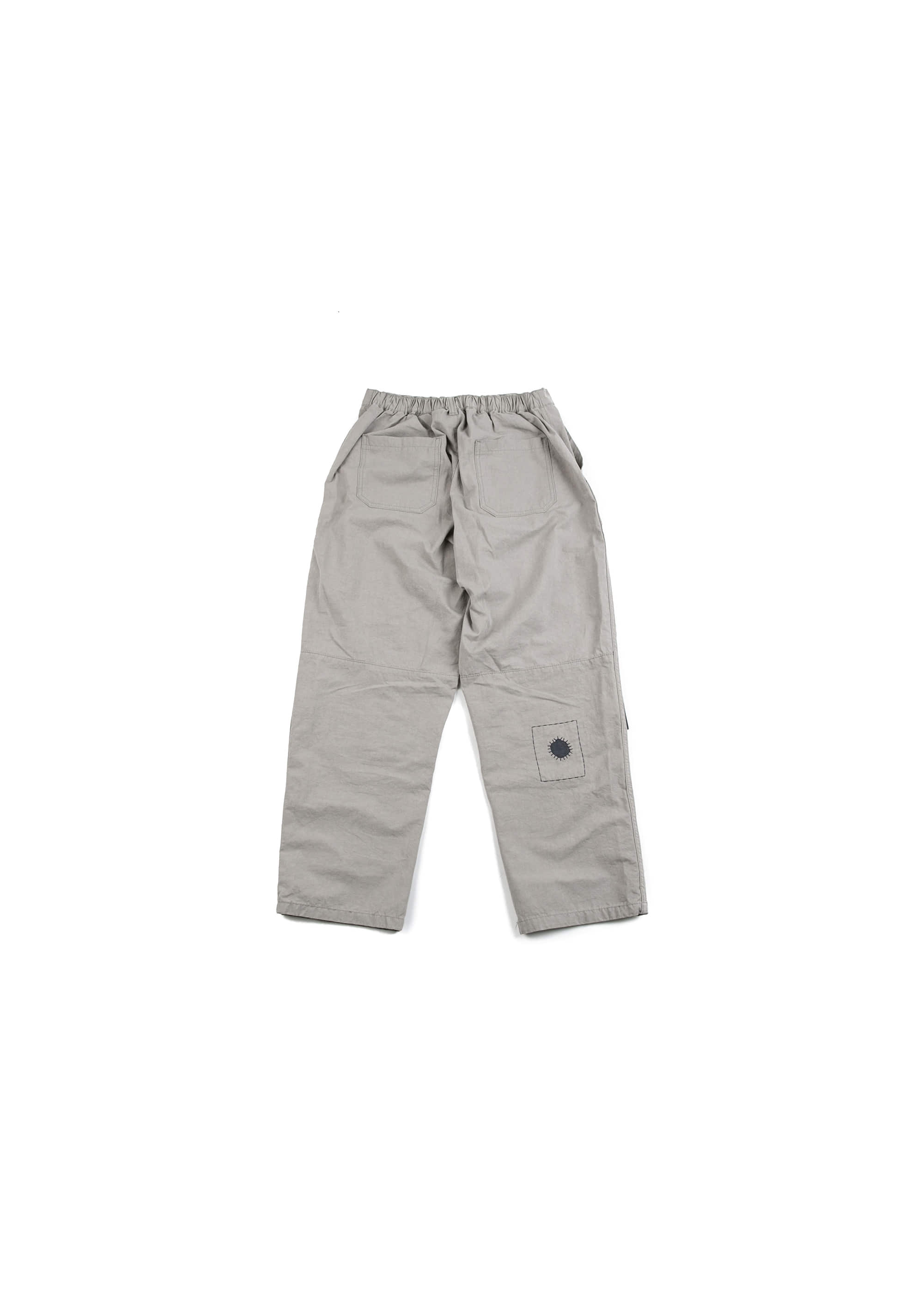 Build Patch Work Pants - Grey [ RE ]