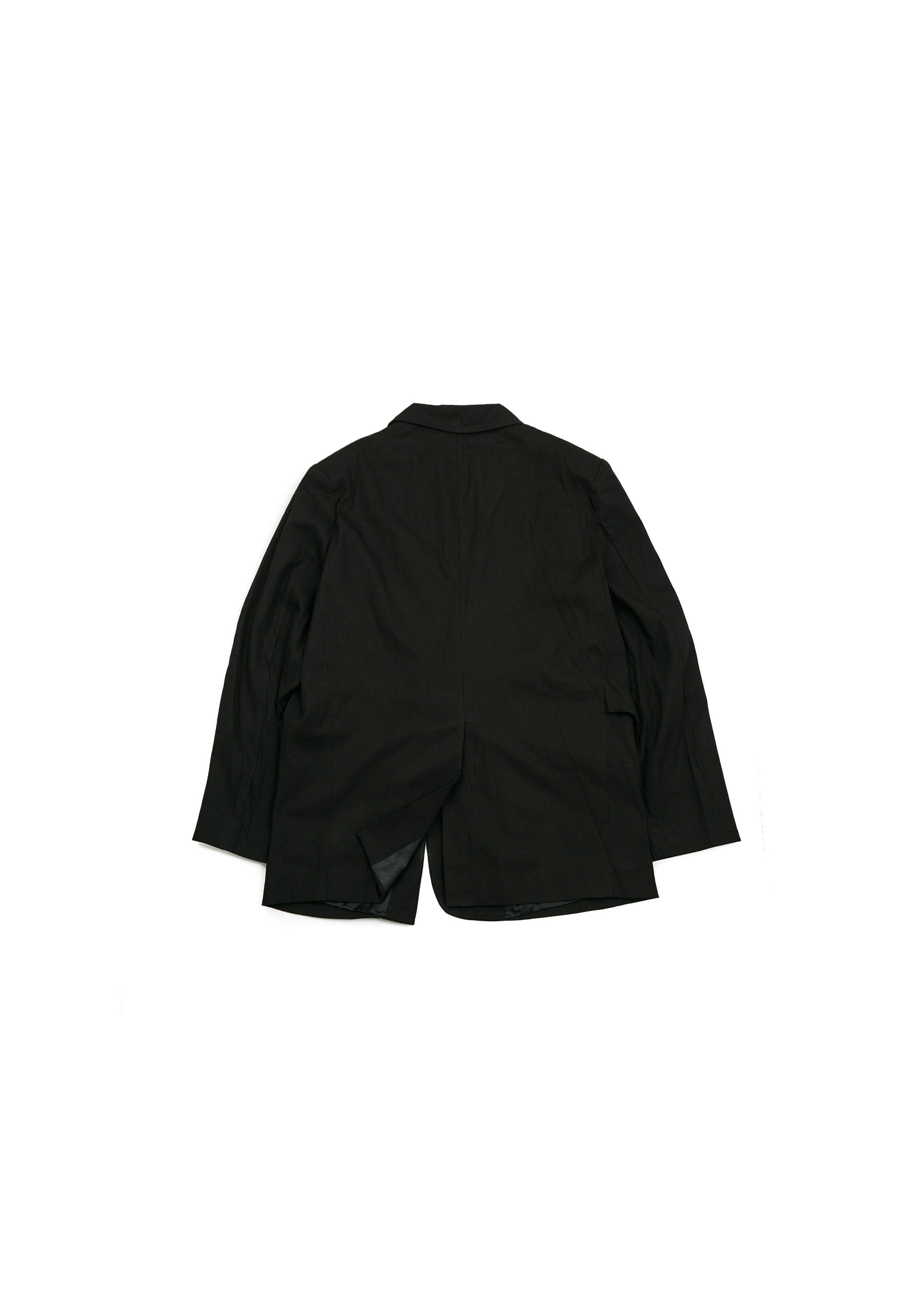 Robe Blazer Jacket - Black
