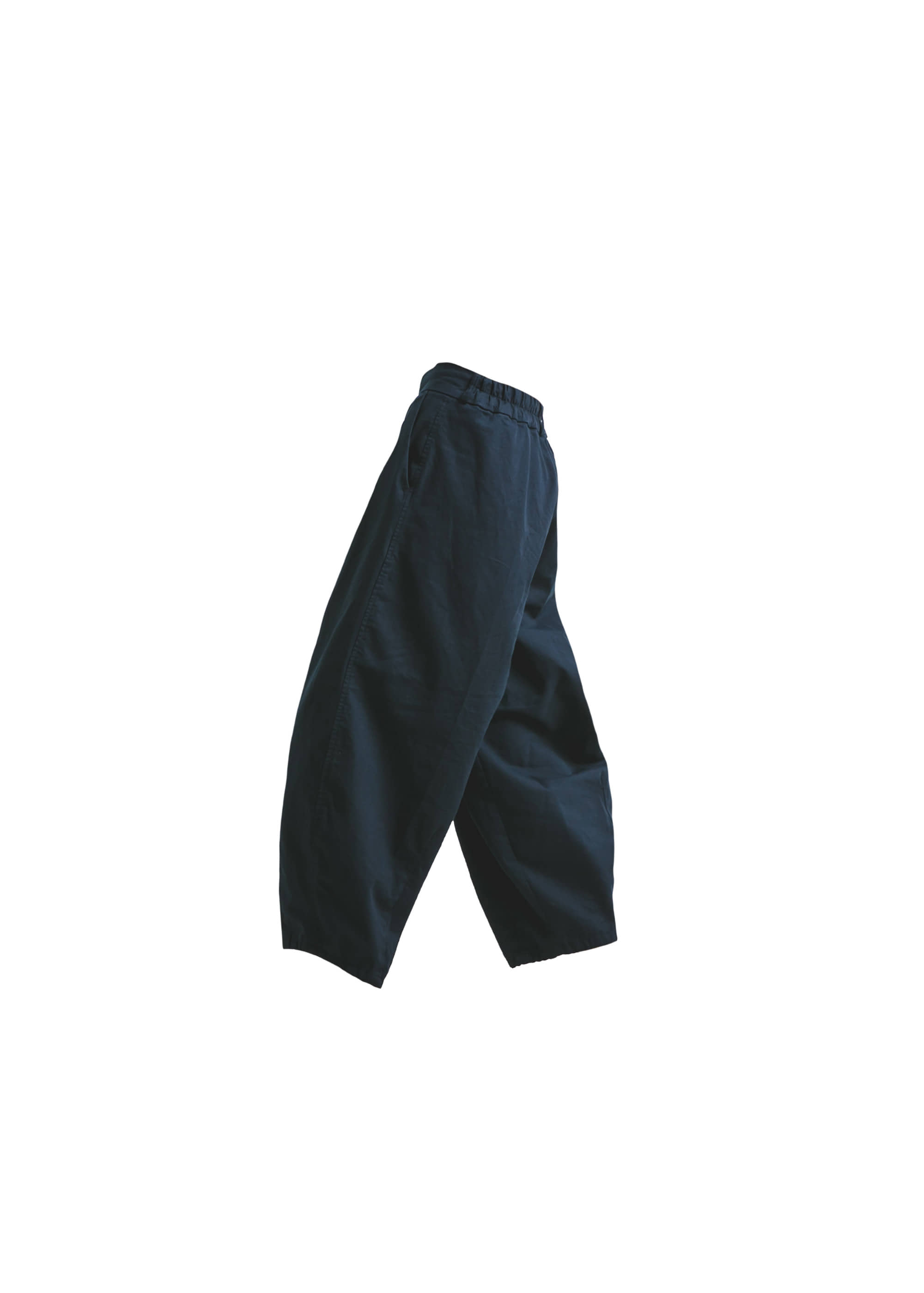 [AG] Cotton Easy Balloon Pants -Navy