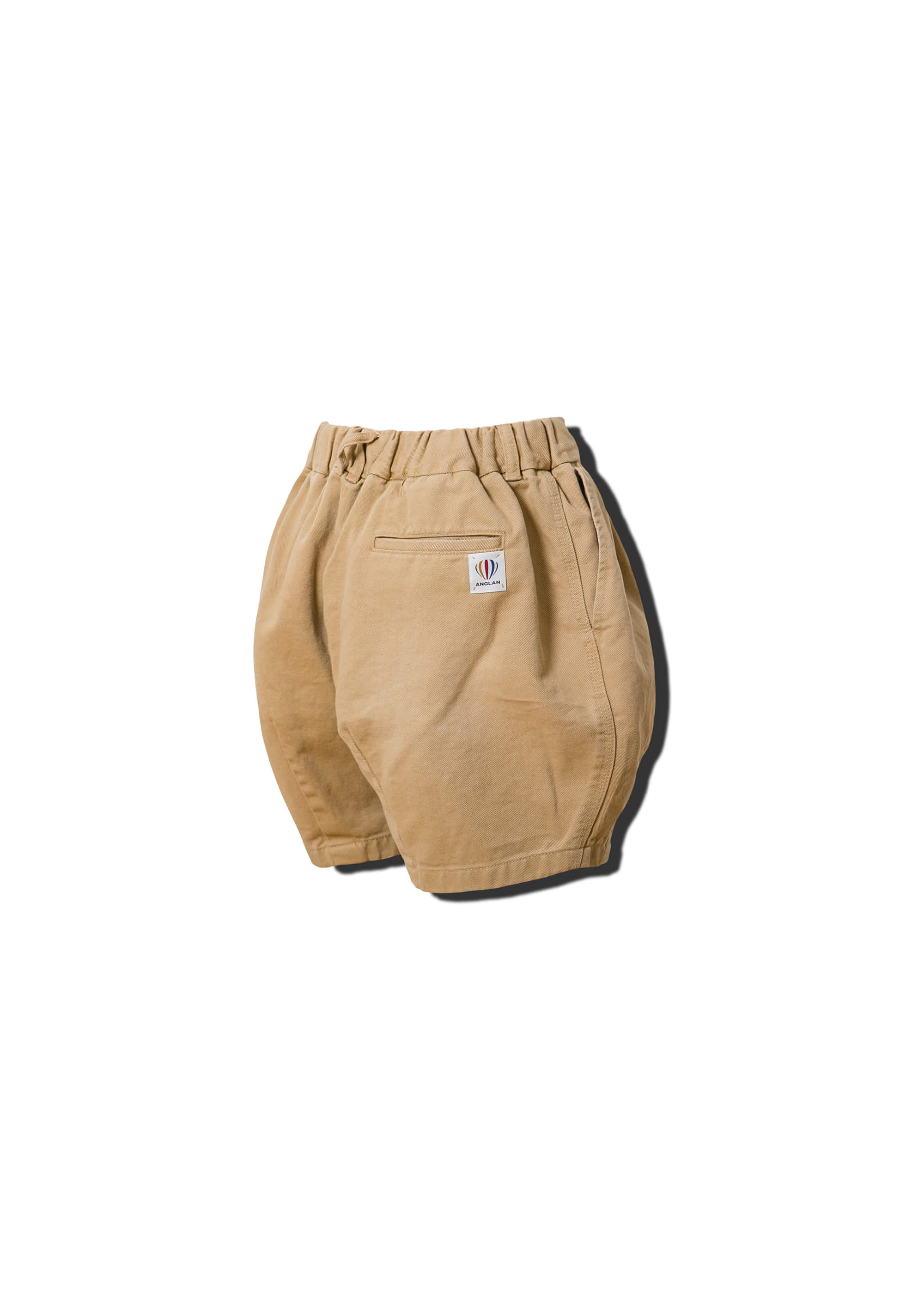 [AG] Cotton Easy Balloon Shorts - Beige