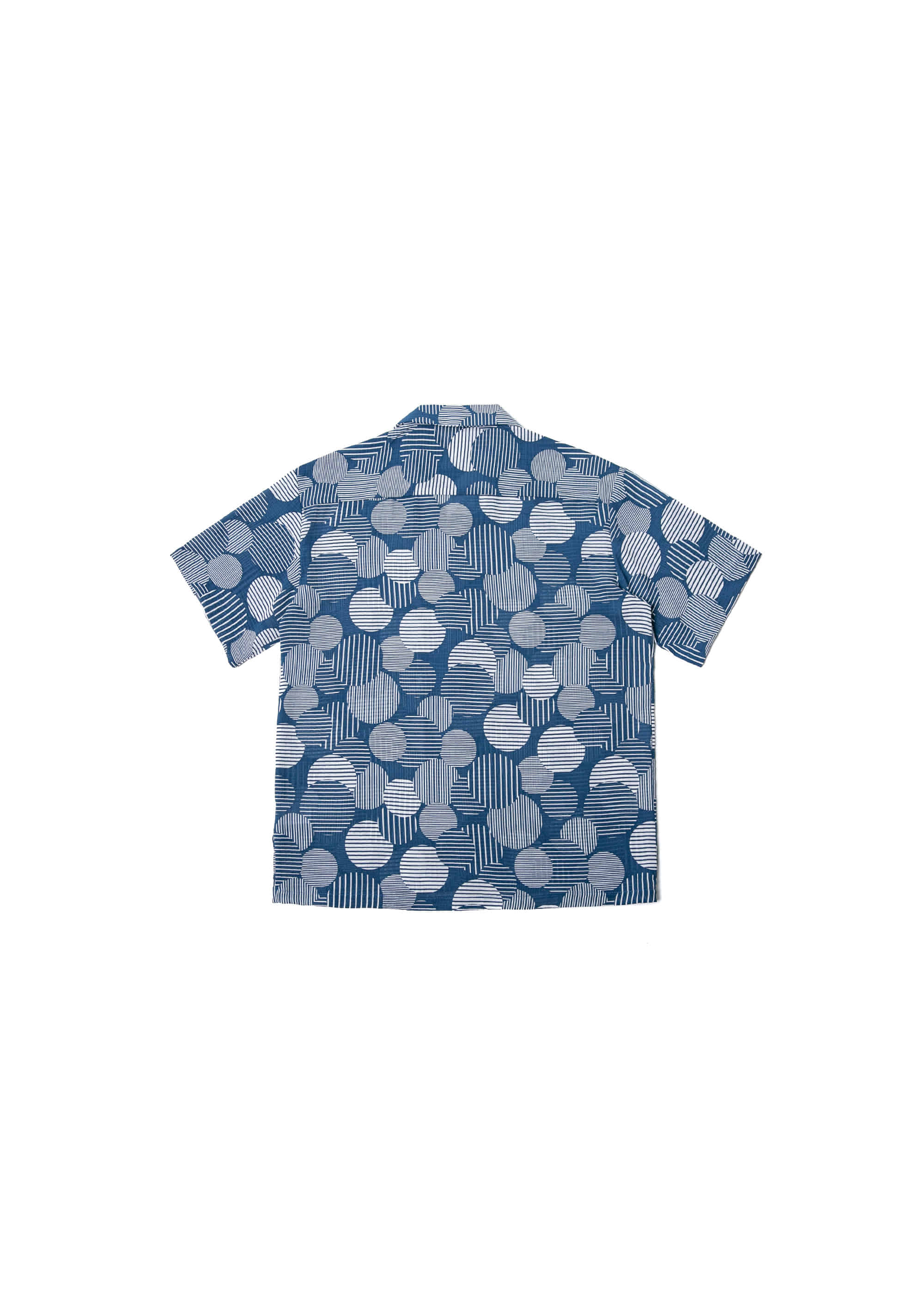 Big Dot Open Collar Half Shirts