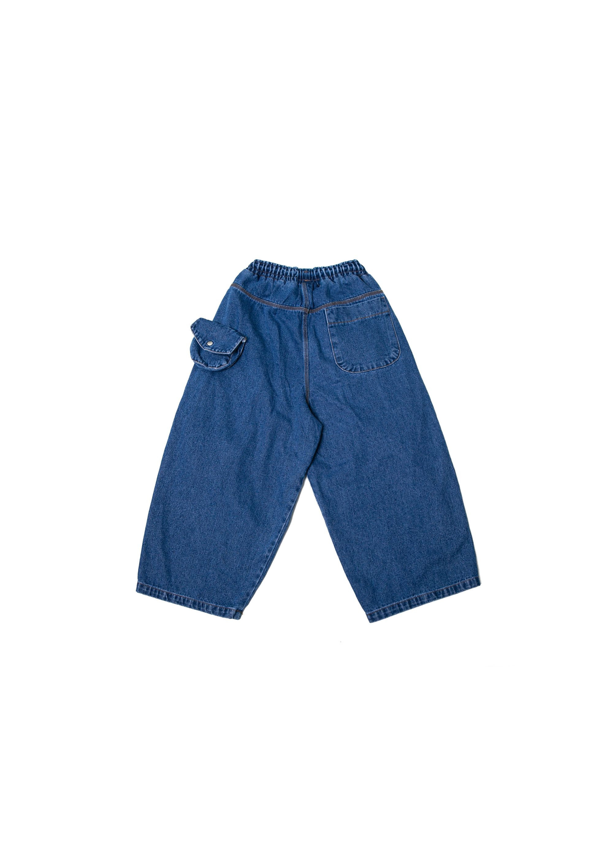 Transform Pocket Denim Pants - Dark Blue