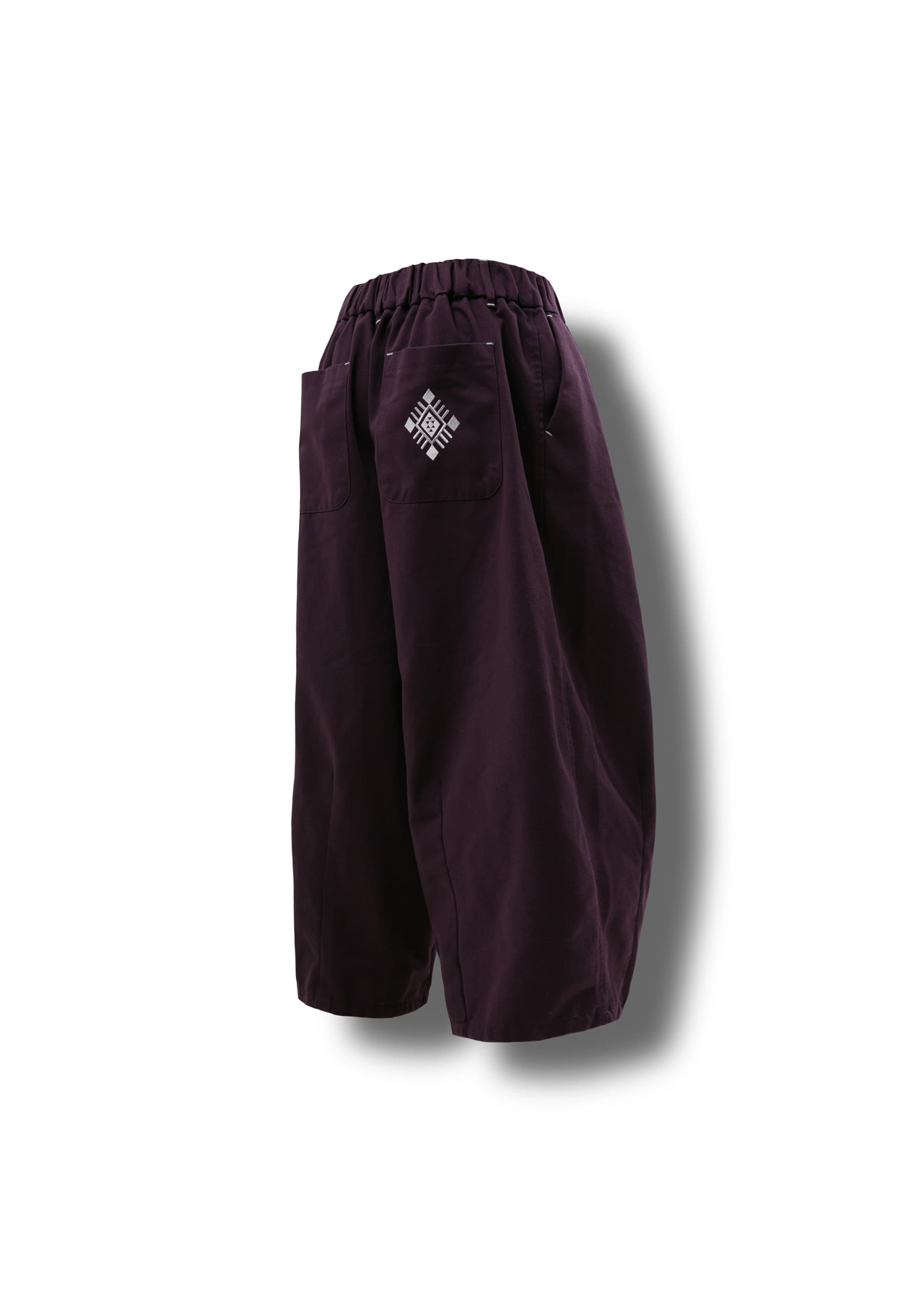 [AG] Ethnic String Balloon Pants - Purple