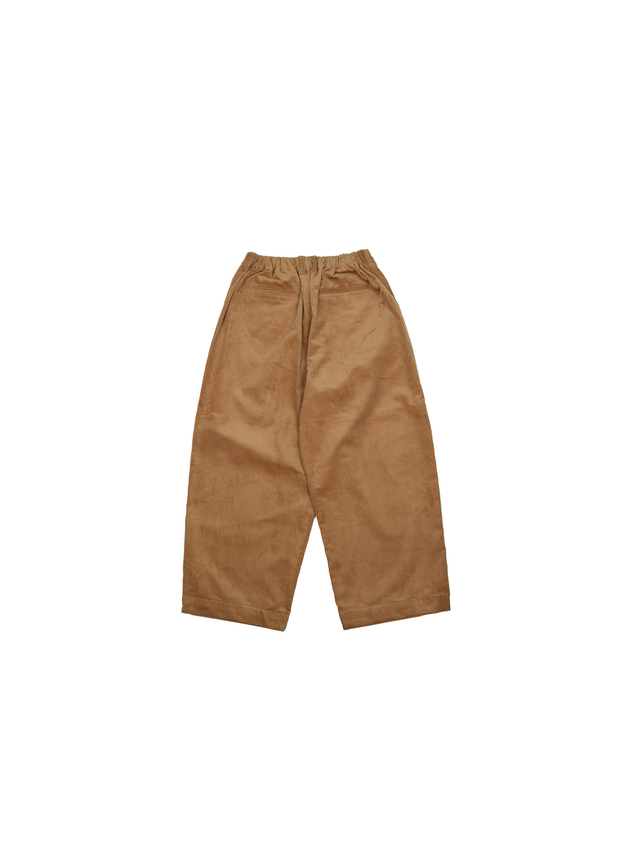 Corduroy Wide Pants - Brown