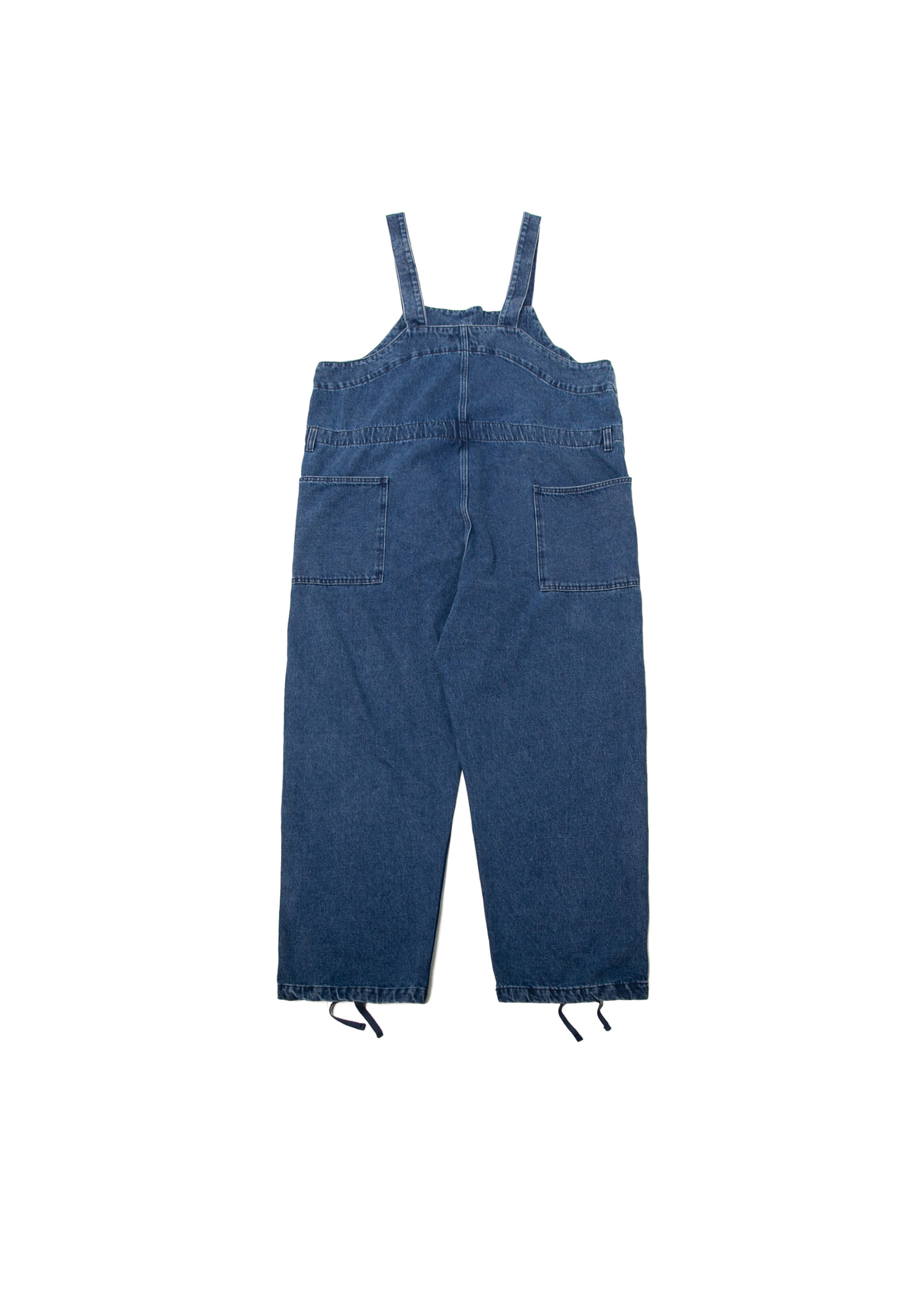 Twill Denim Overall - Dark Blue