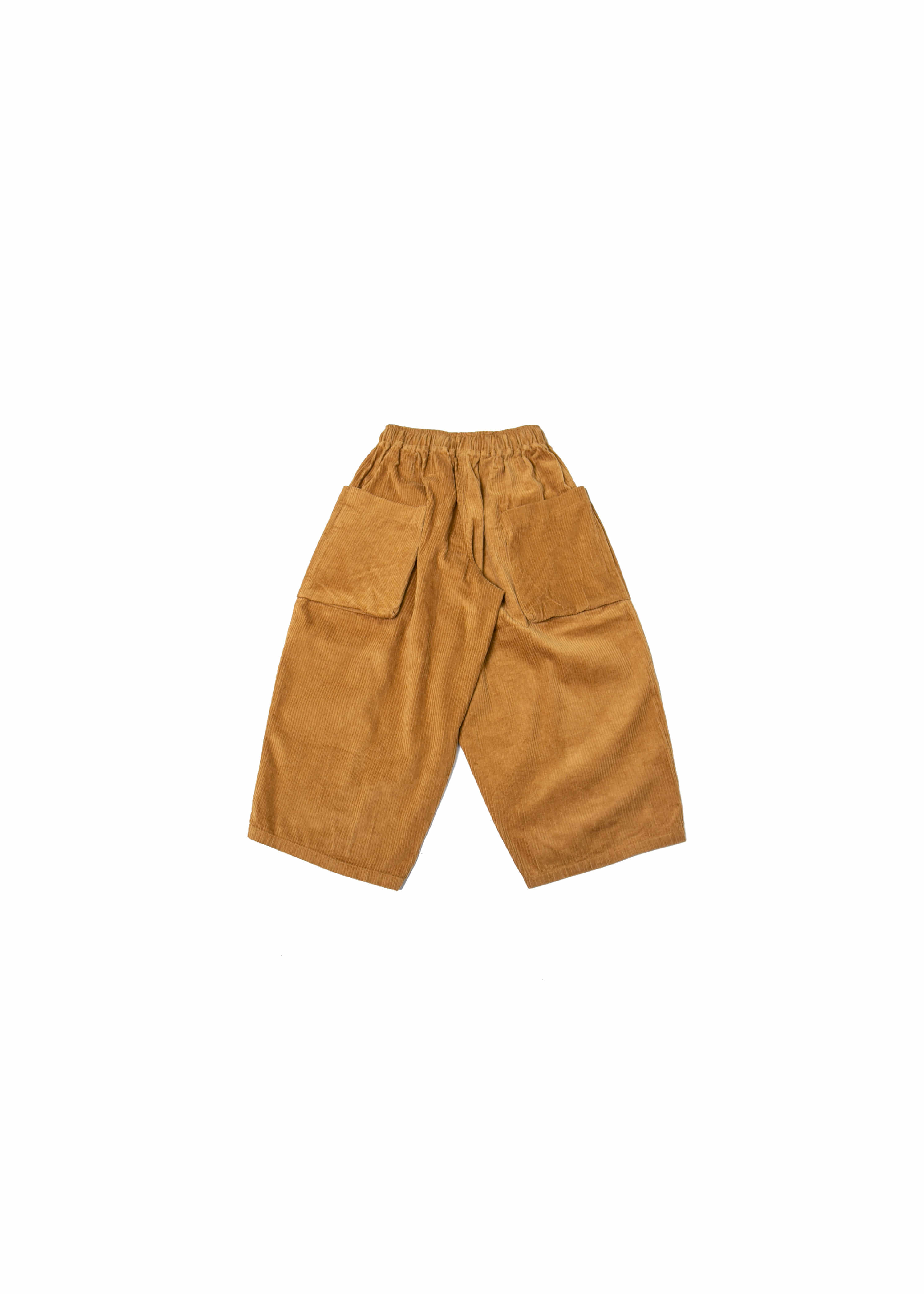 Corduroy Big Pocket Jungle Pants - Mustard