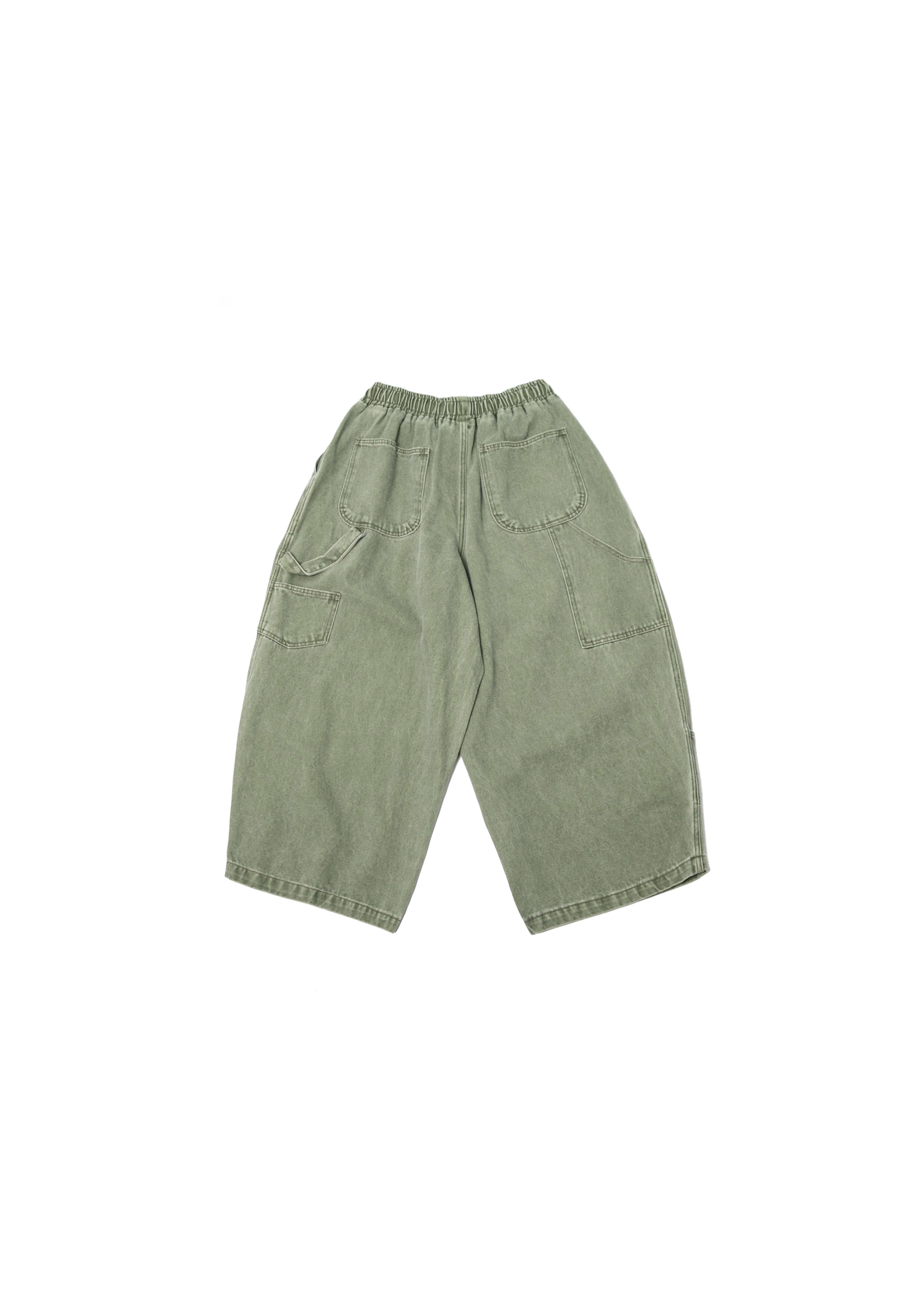 Pigment Fatigue Balloon Pants - Khaki