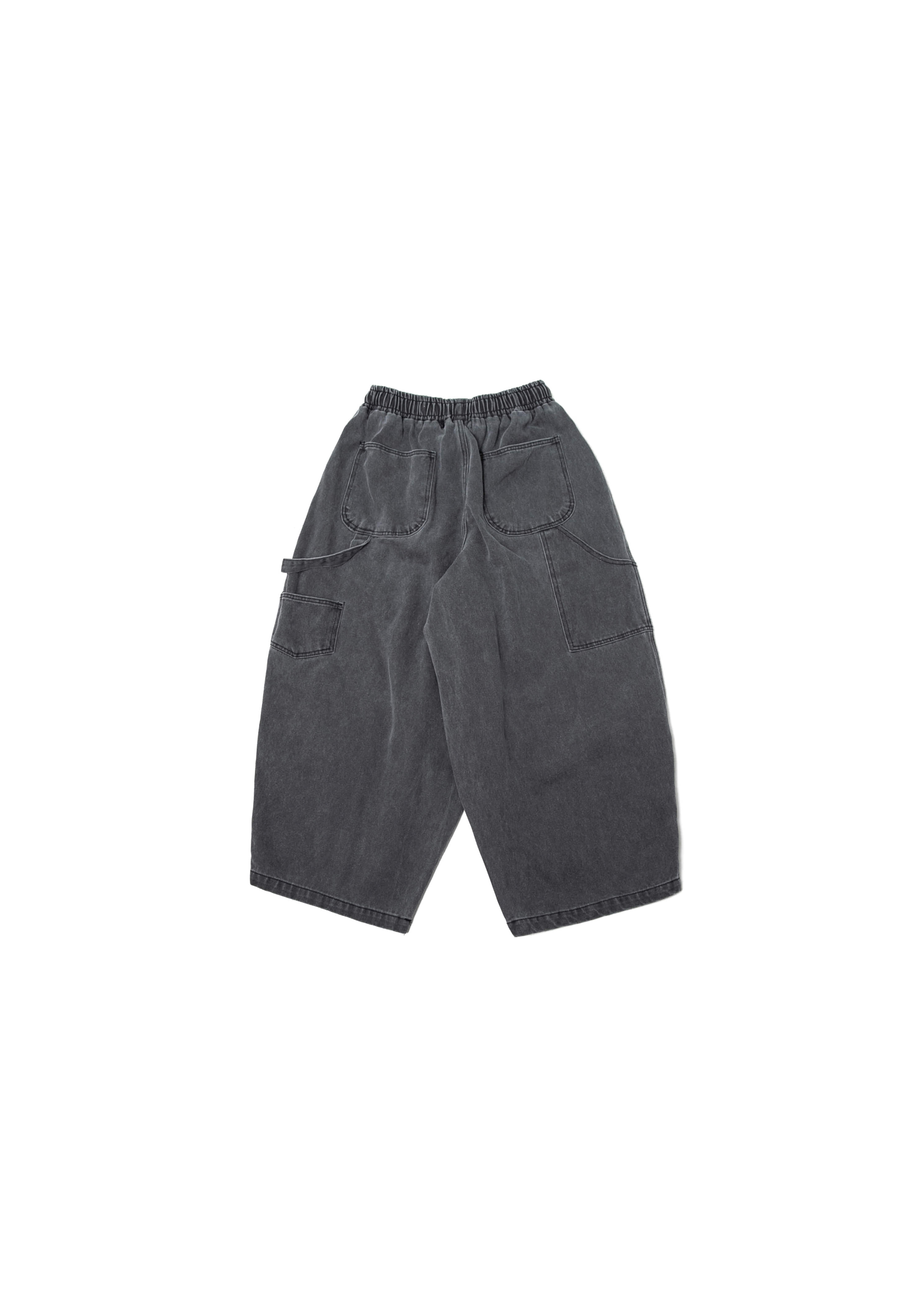 Pigment Fatigue Balloon Pants - Charcoal [ RE ]