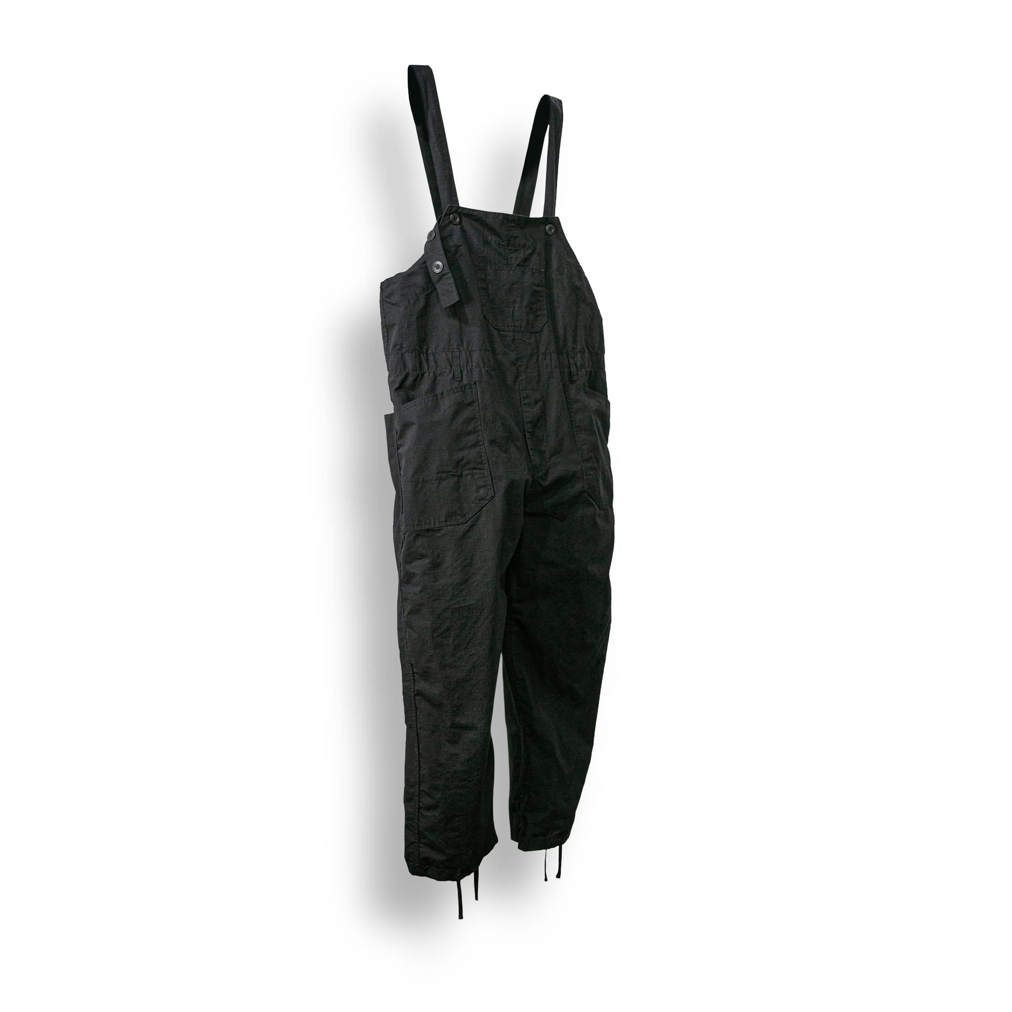 Ribstop 3-Button Overall - Black