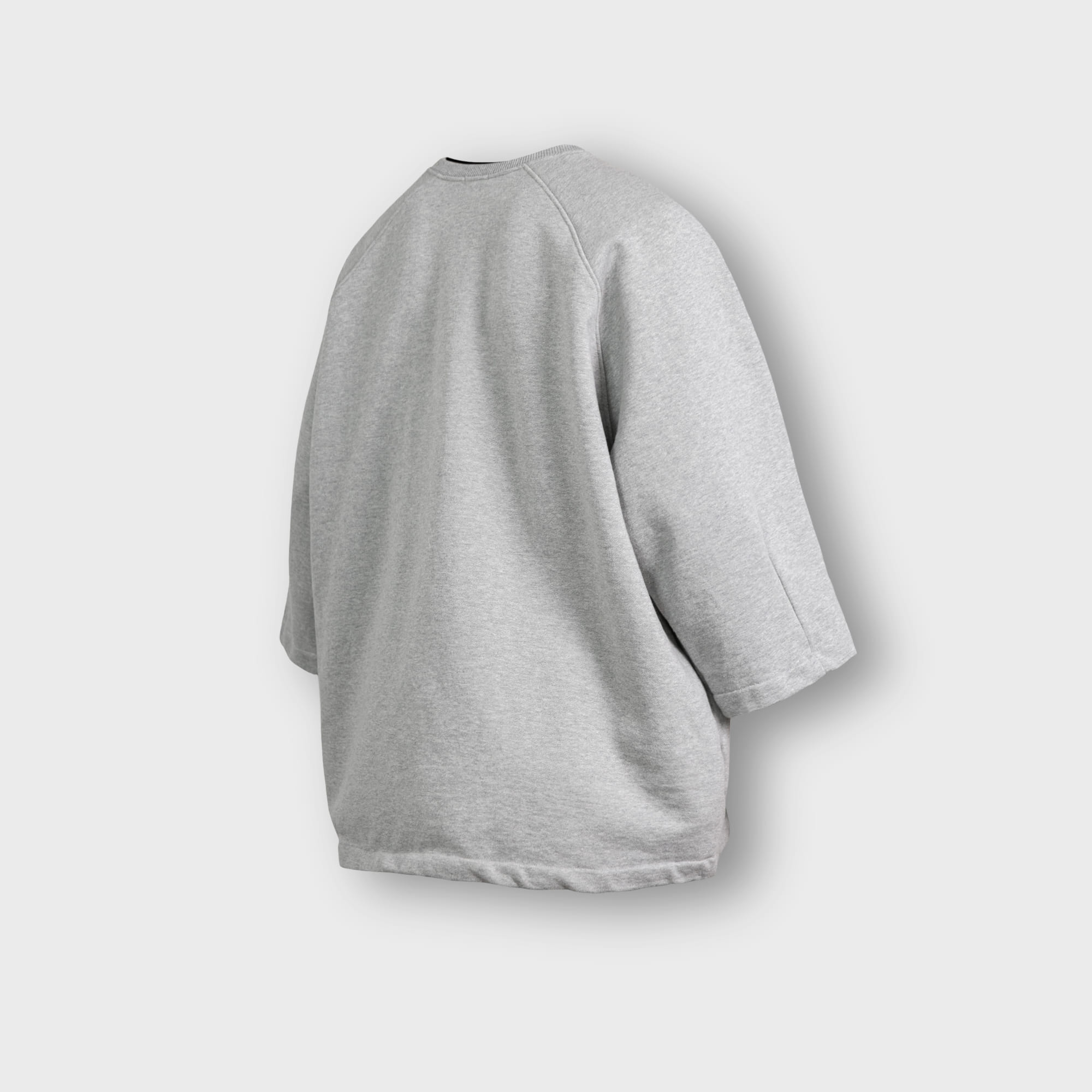[AG] Heavy Sweat Medium Sleeve Tee - Grey