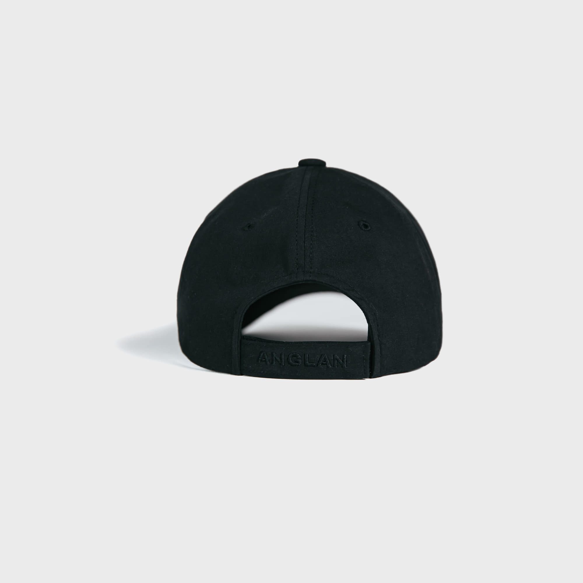 [AG] Signature Logo Ball Cap - Black