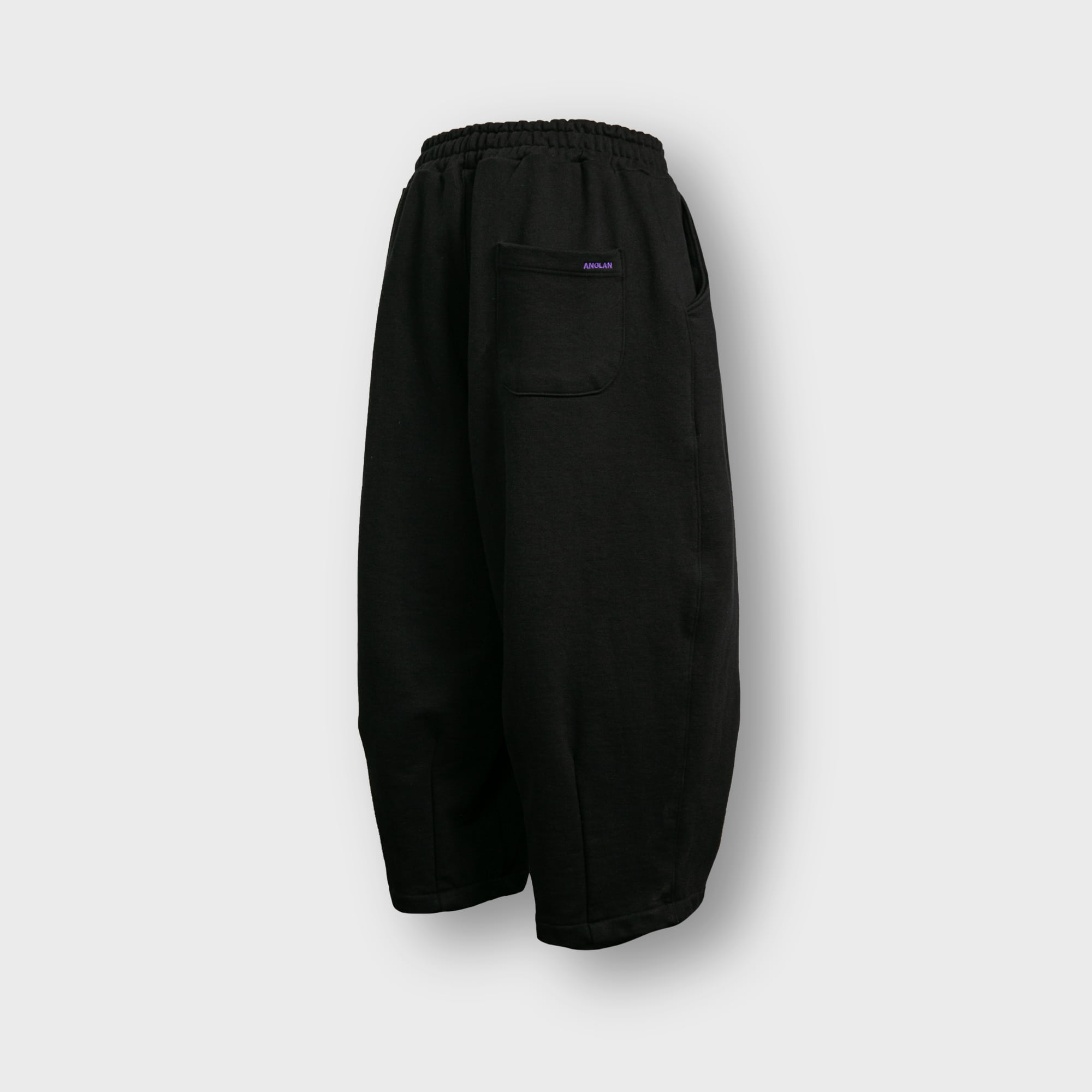 [AG] Heavy Sweat Balloon Pants - Black