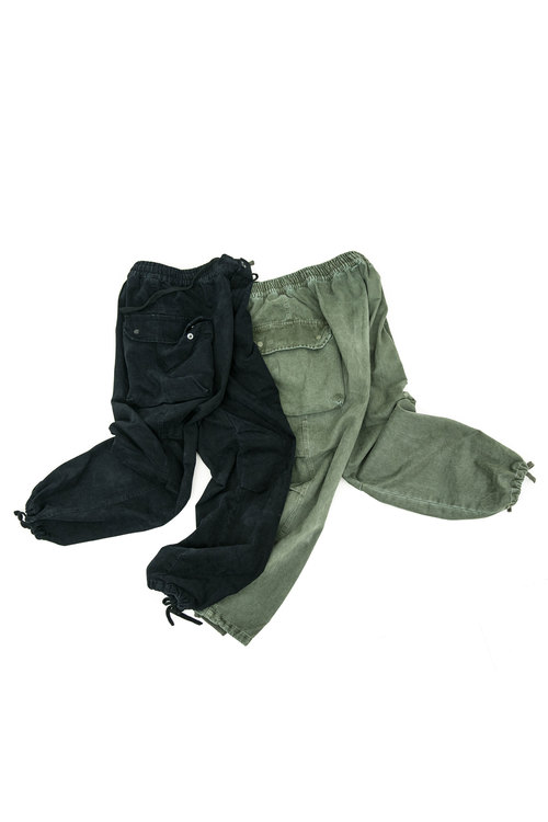Washing Cargo Pants - 2color [ S/S Season Fabric]