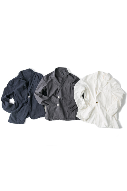 Linen Pocket Jacket - 3color