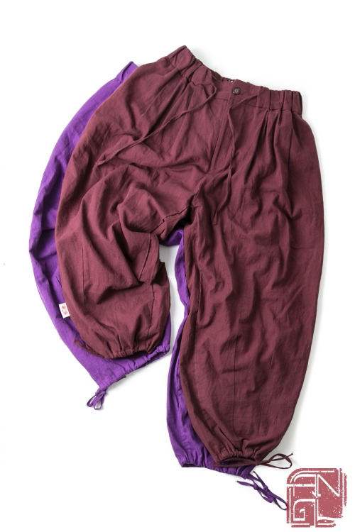 Trim Balloon Pants - 2color