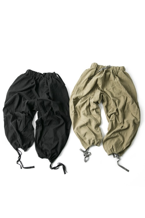 Army Linen Balloon Pants - 2color [ 리오더 진행 중 ]