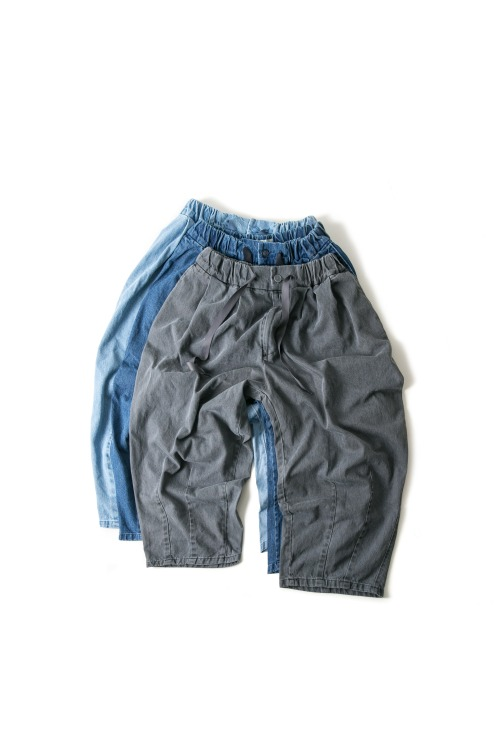 Denim Balloon Pants - 3color [ 리오더 진행 중 ]