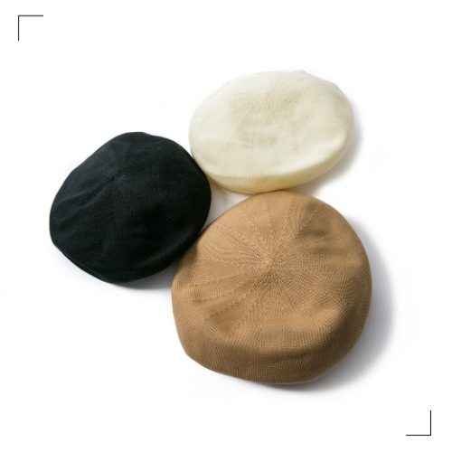 Weaving Beret - 3color