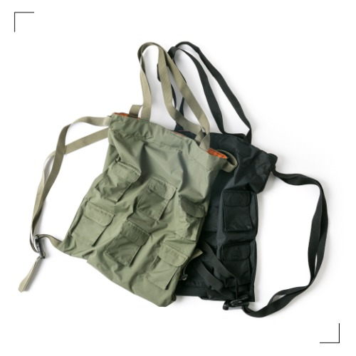 Multi Pocket Bag - 2color [ RE ]