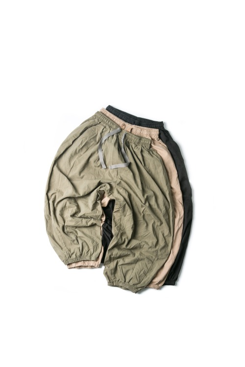Jogger Balloon Pants - 3color [ 리오더 진행 중 ]