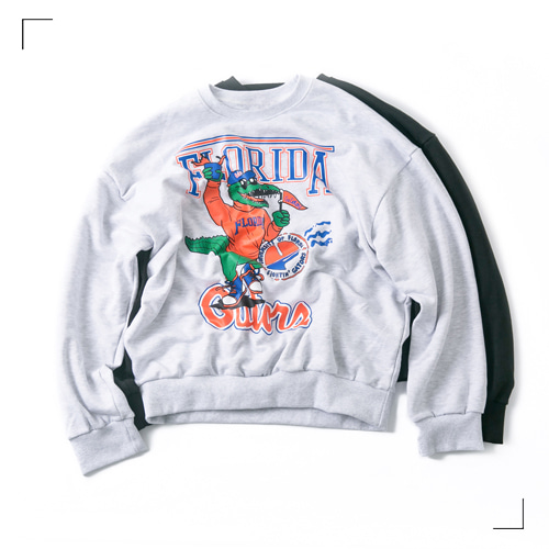 FLORIDA Sweat Shirts - 2color [ RE ]