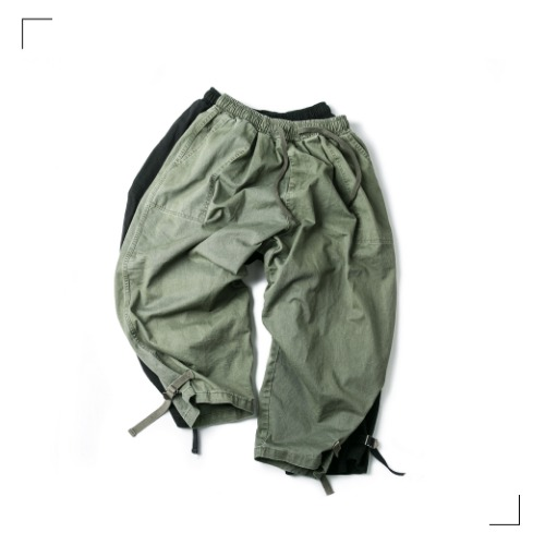Webbing Balloon Pants - 2color