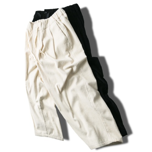Corduroy Balloon Pants - 2color