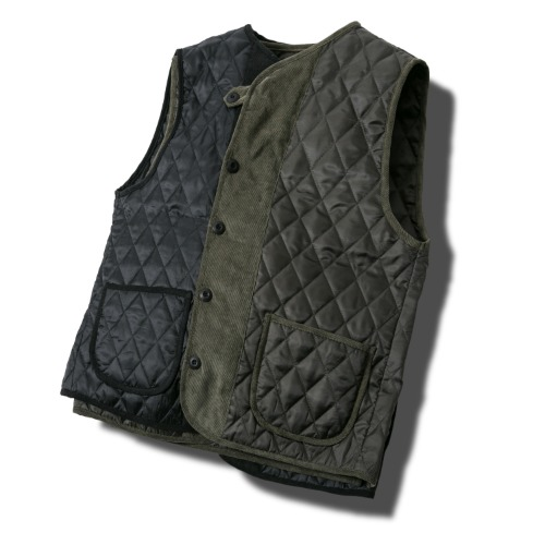 Dia Quilting Vest - 2color
