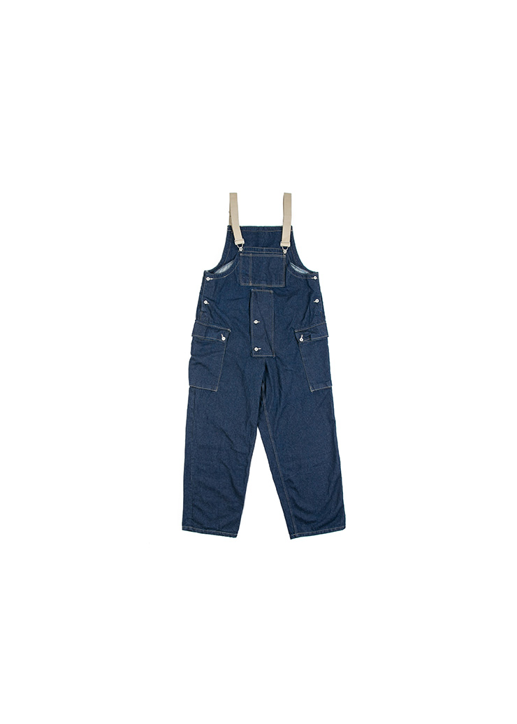 [M] Denim Heavy Overall