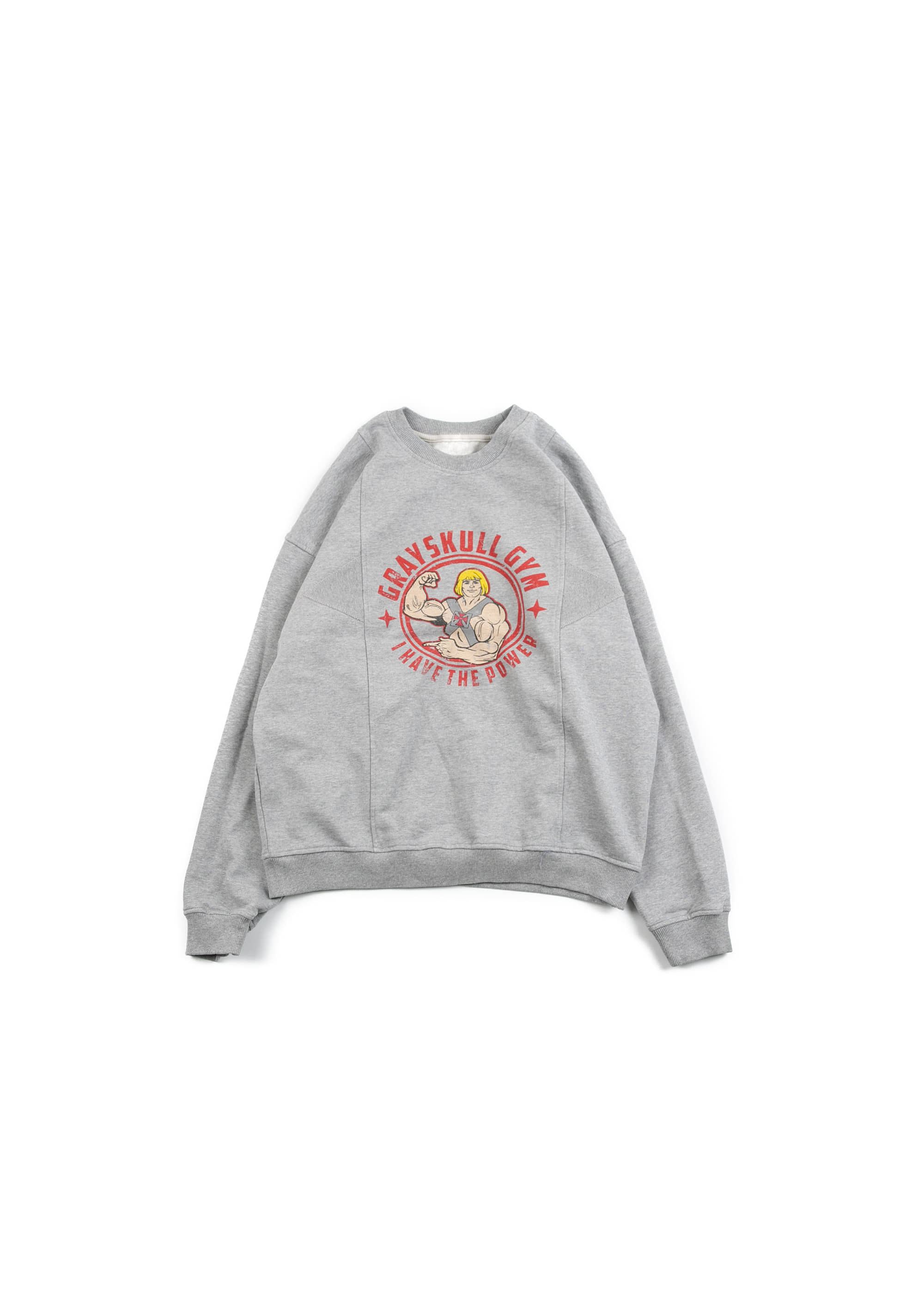 He Man & Skeelletor Sweat Shirts - Grey