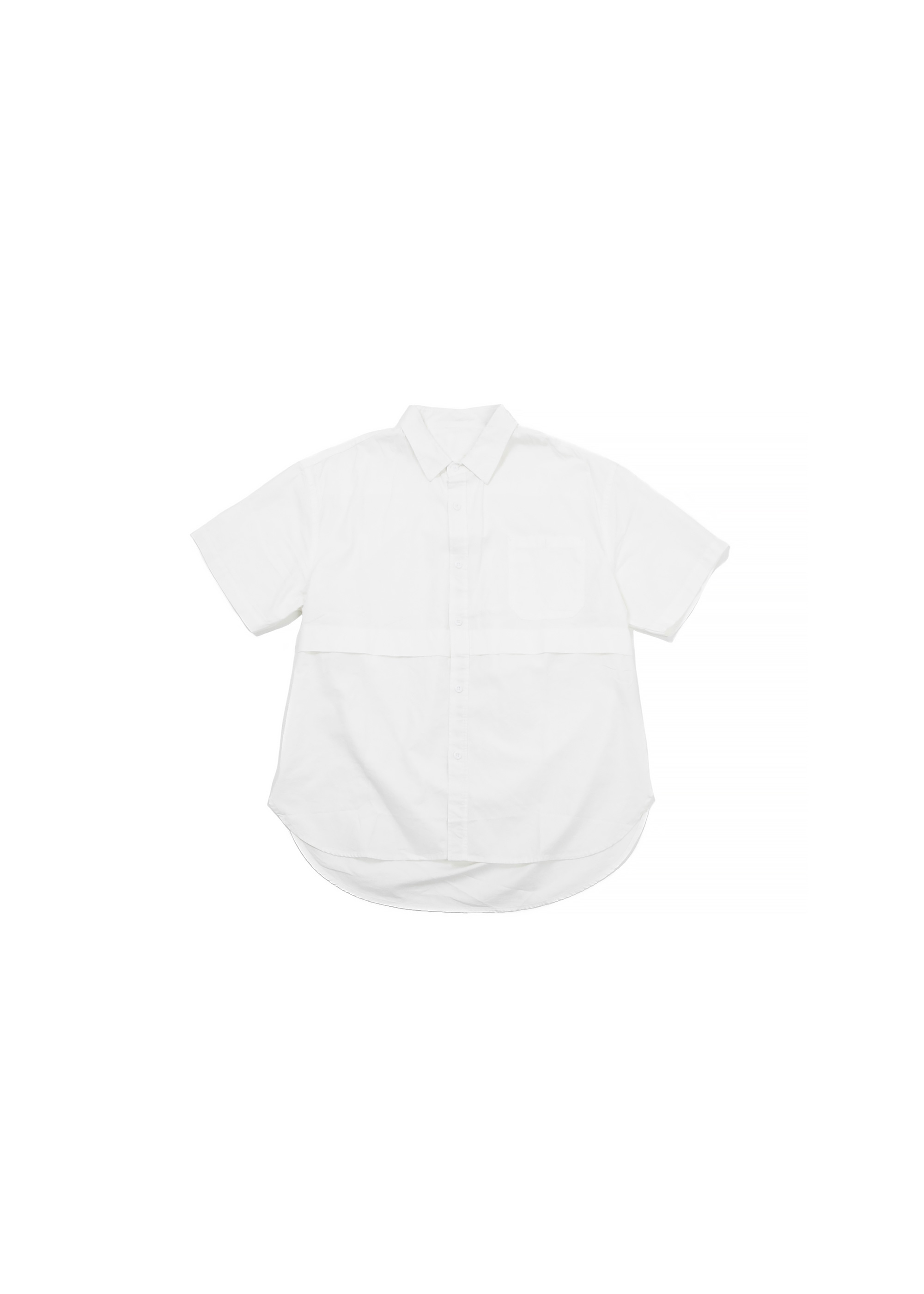 Half Basic Line Shirts - White