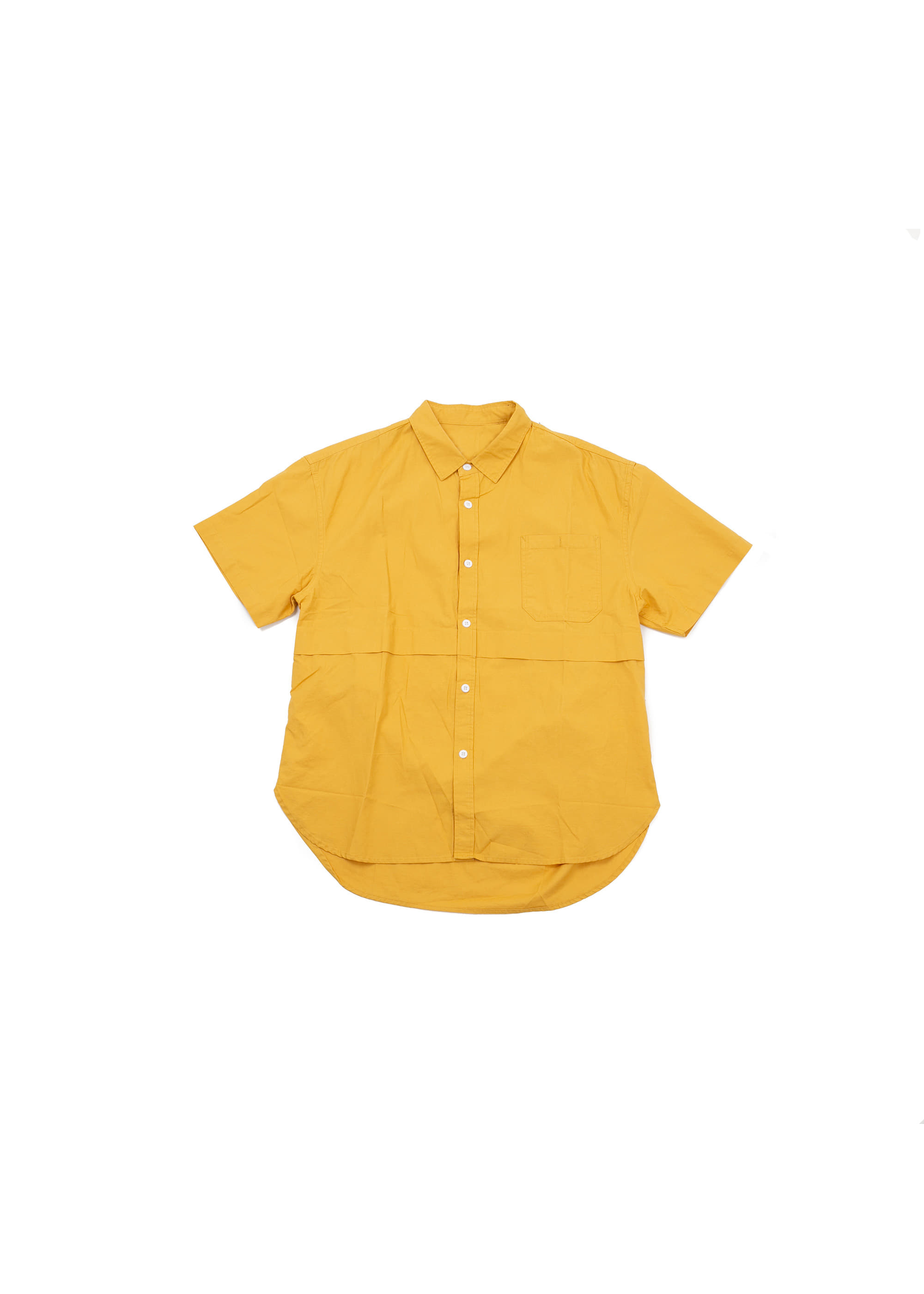 Half Basic Line Shirts - Yellow