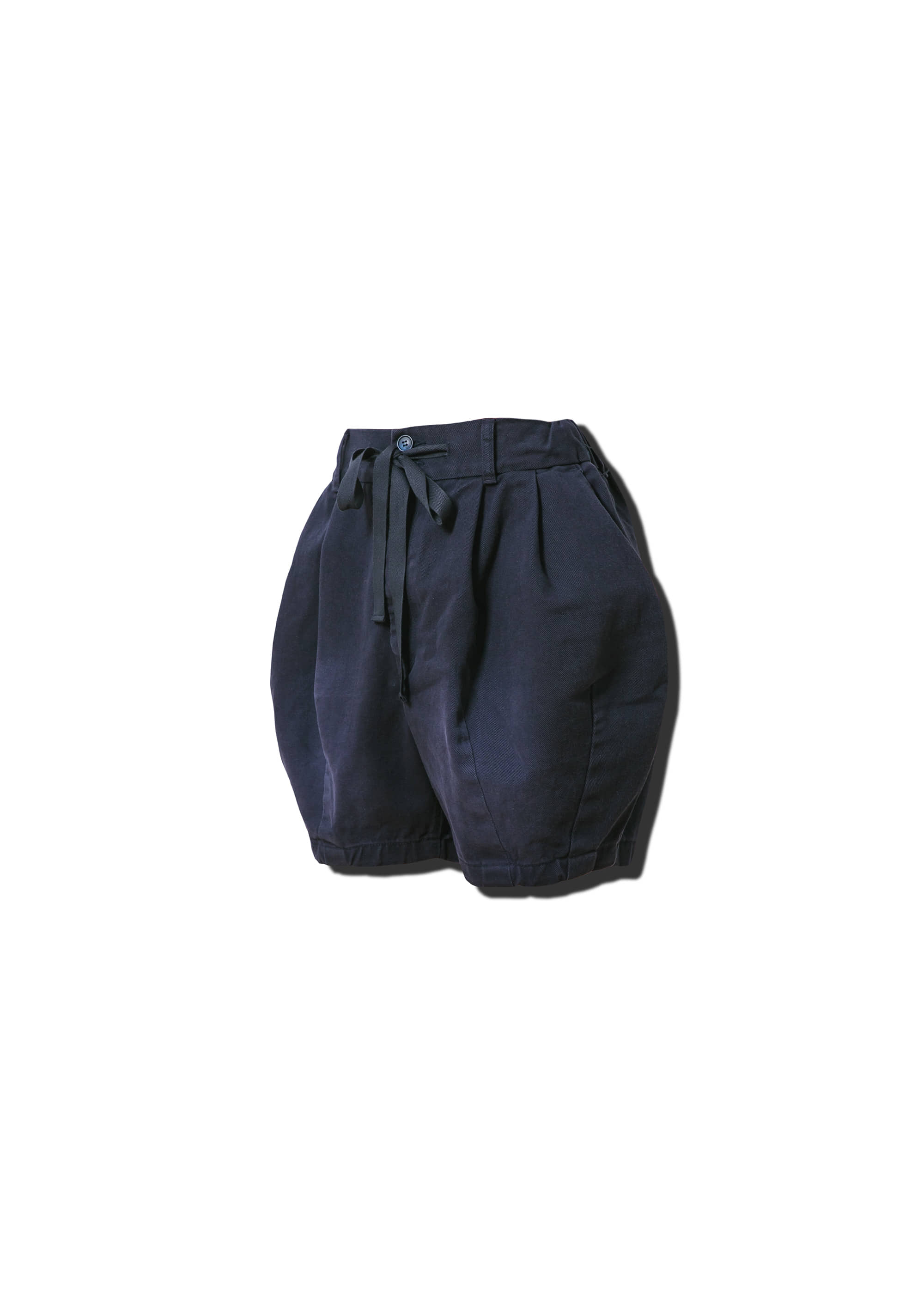 [AG] Cotton Easy Balloon Shorts - Navy