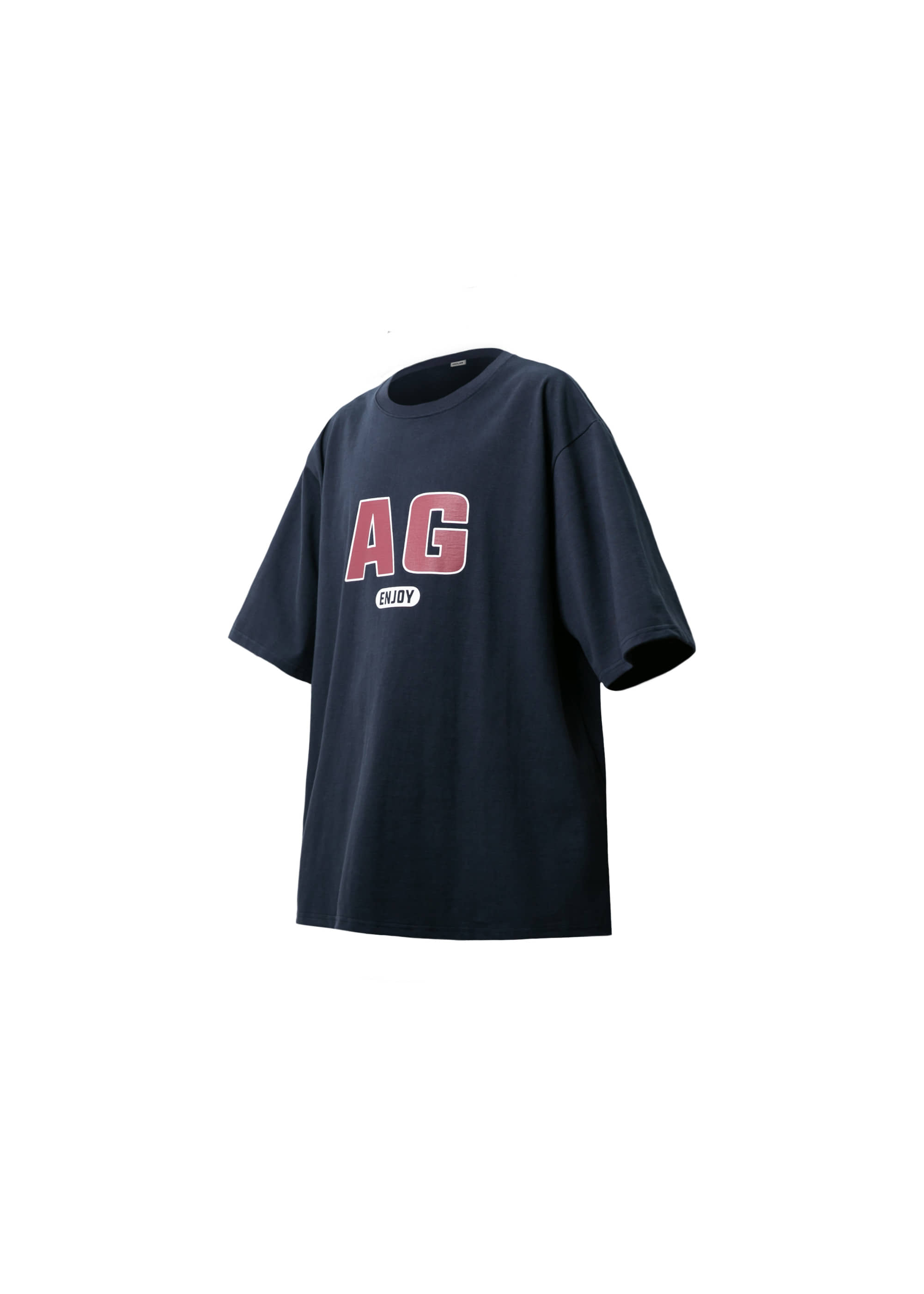 [AG] AG Logo Over Tee - Navy