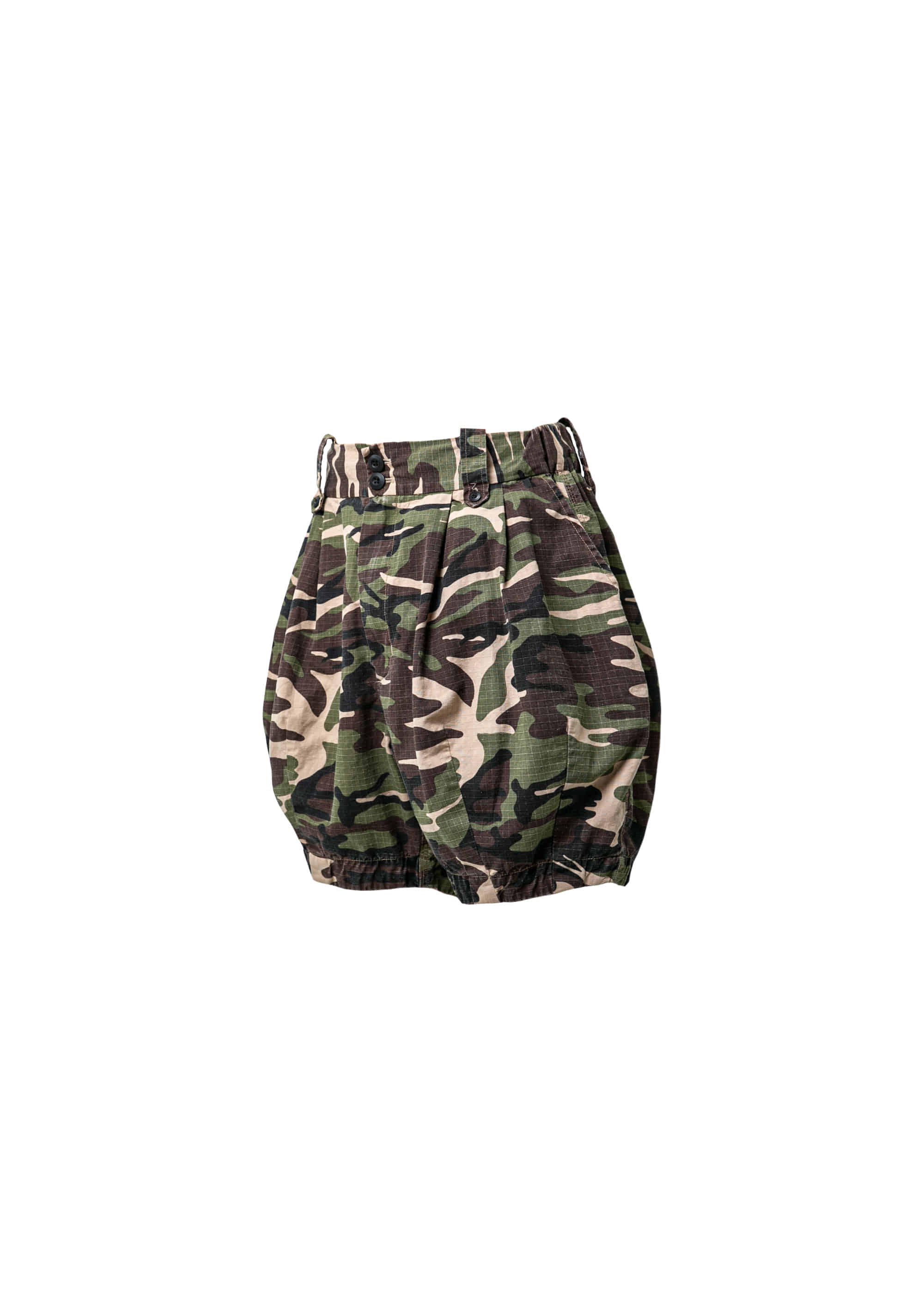[AG X GR] Woodland Camo Balloon Shorts