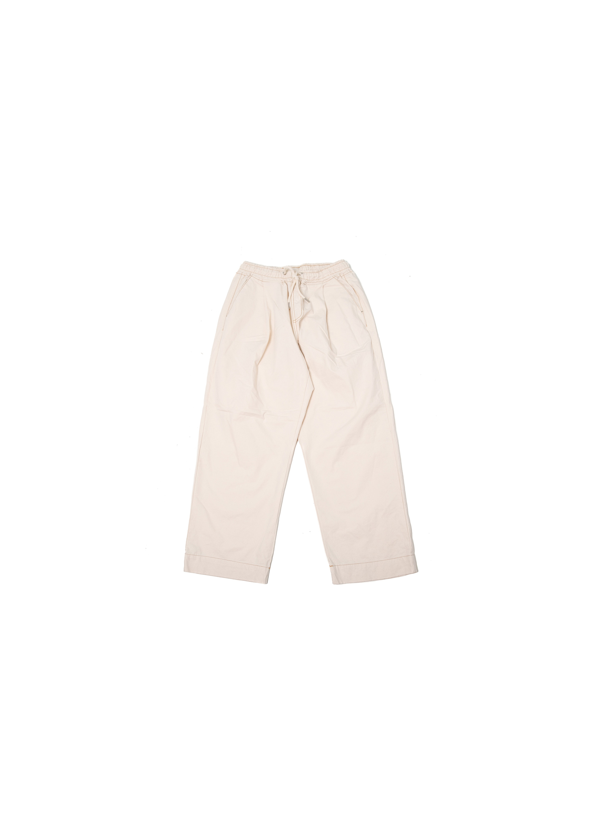 Big Pocket Work Pants - Ivory