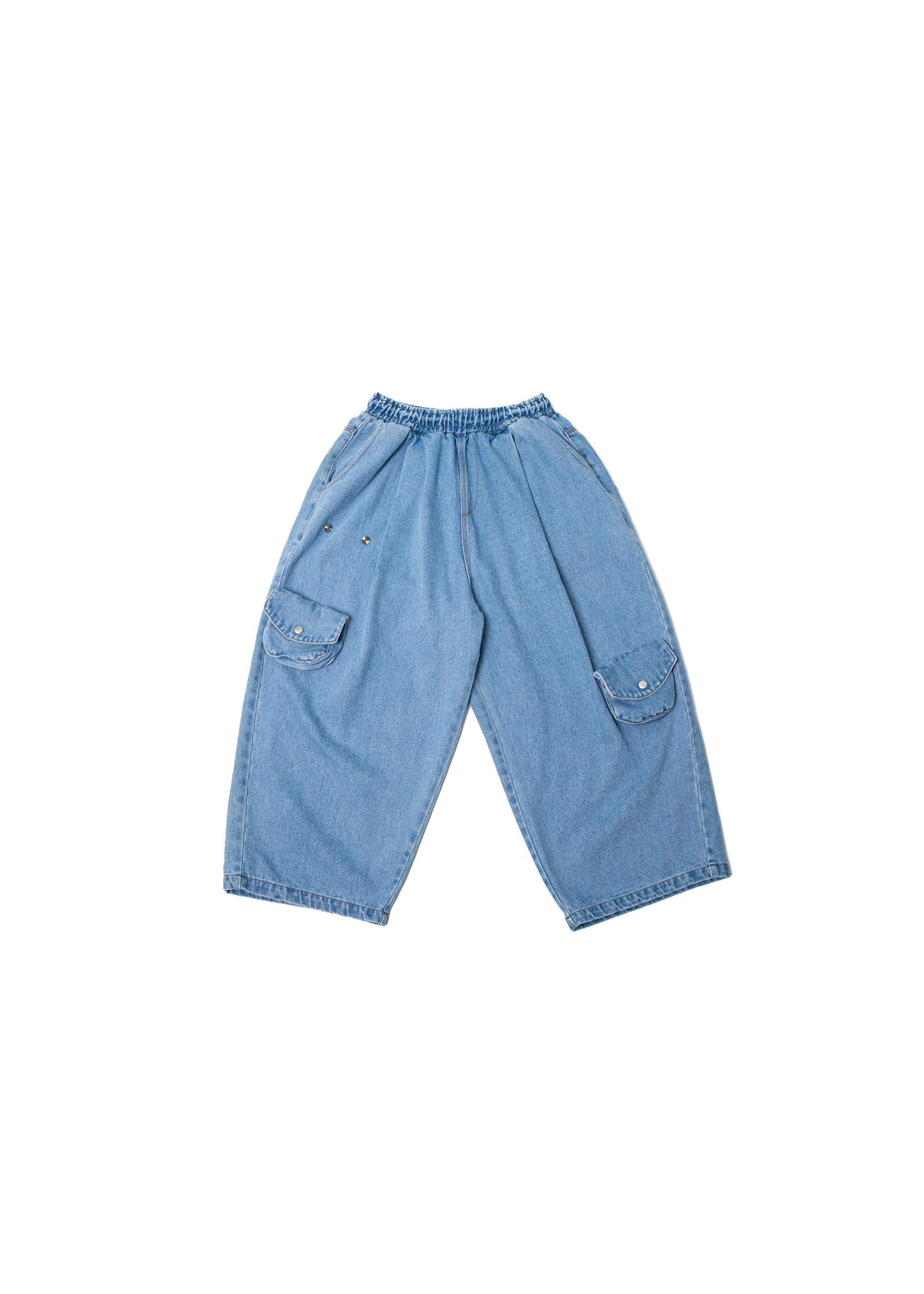 Transform Pocket Denim Pants - Light Blue