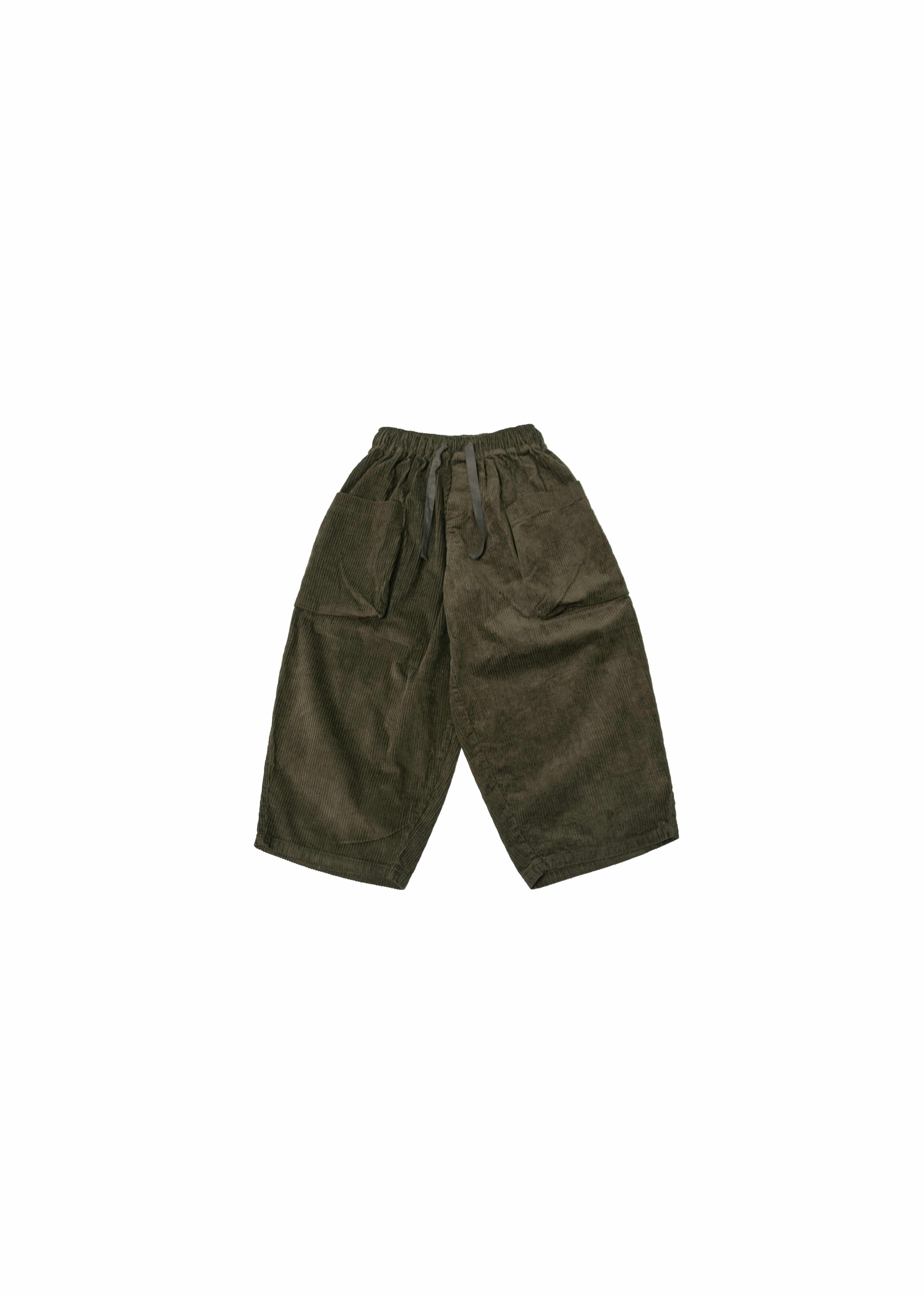 Corduroy Big Pocket Jungle Pants - Khaki [ RE ]
