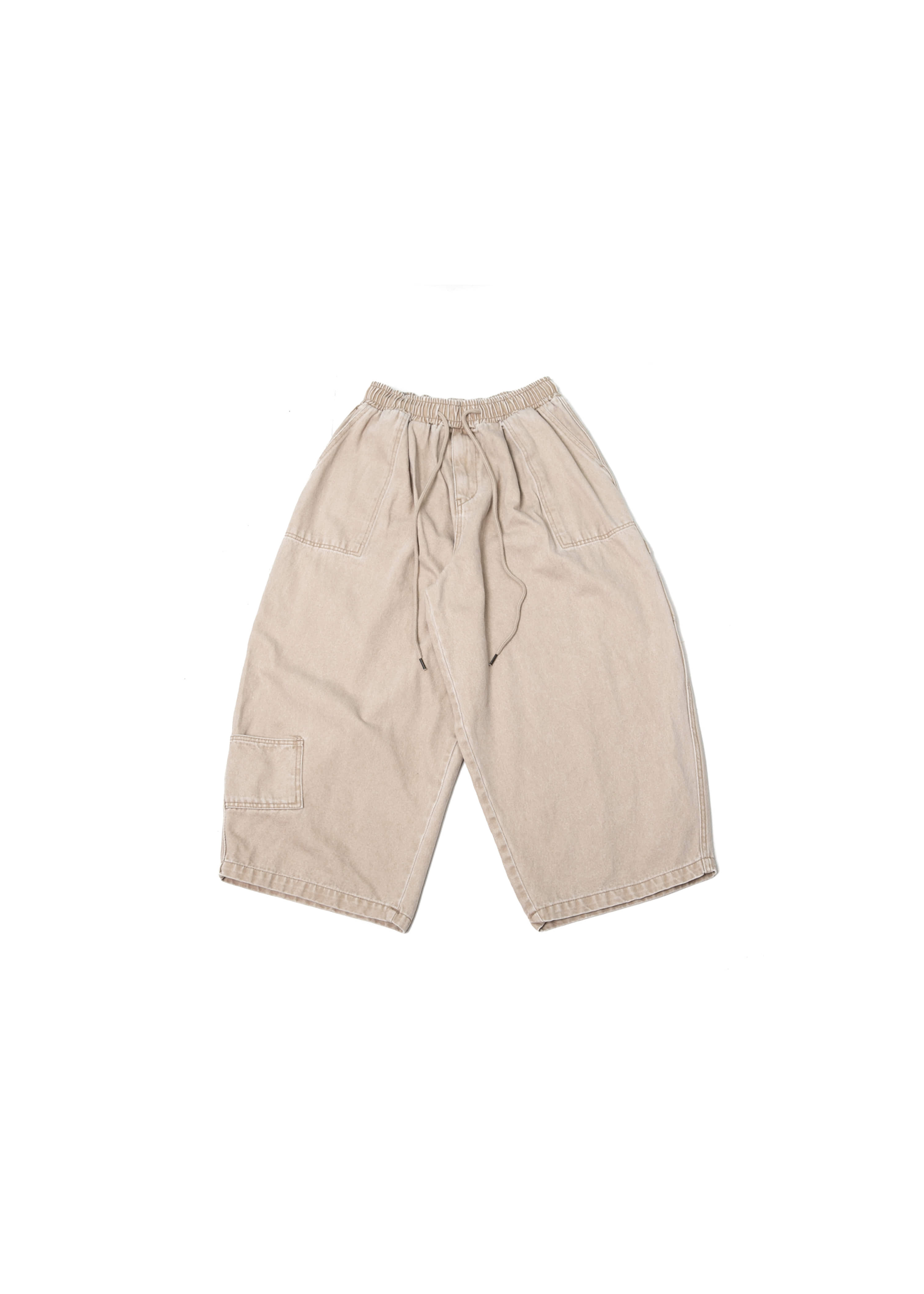 Pigment Fatigue Balloon Pants - Beige