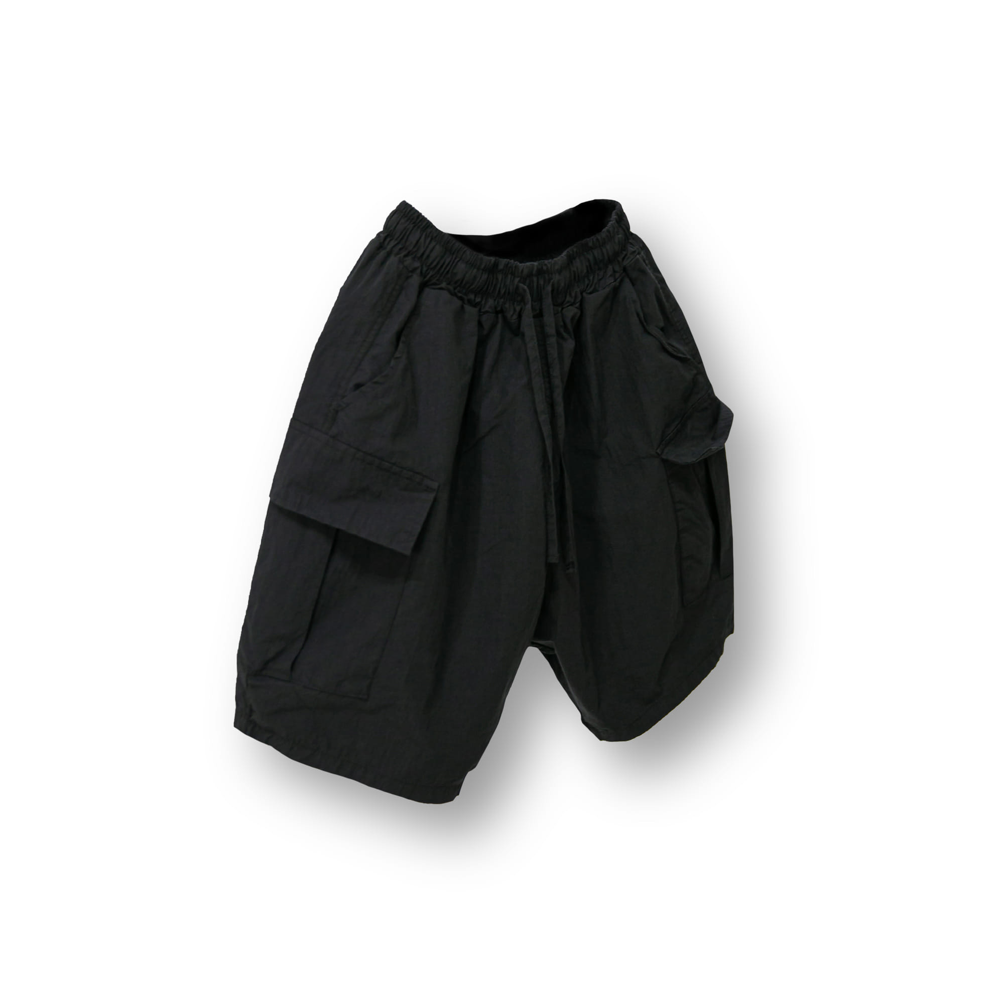 Volume Cargo Shorts - Black